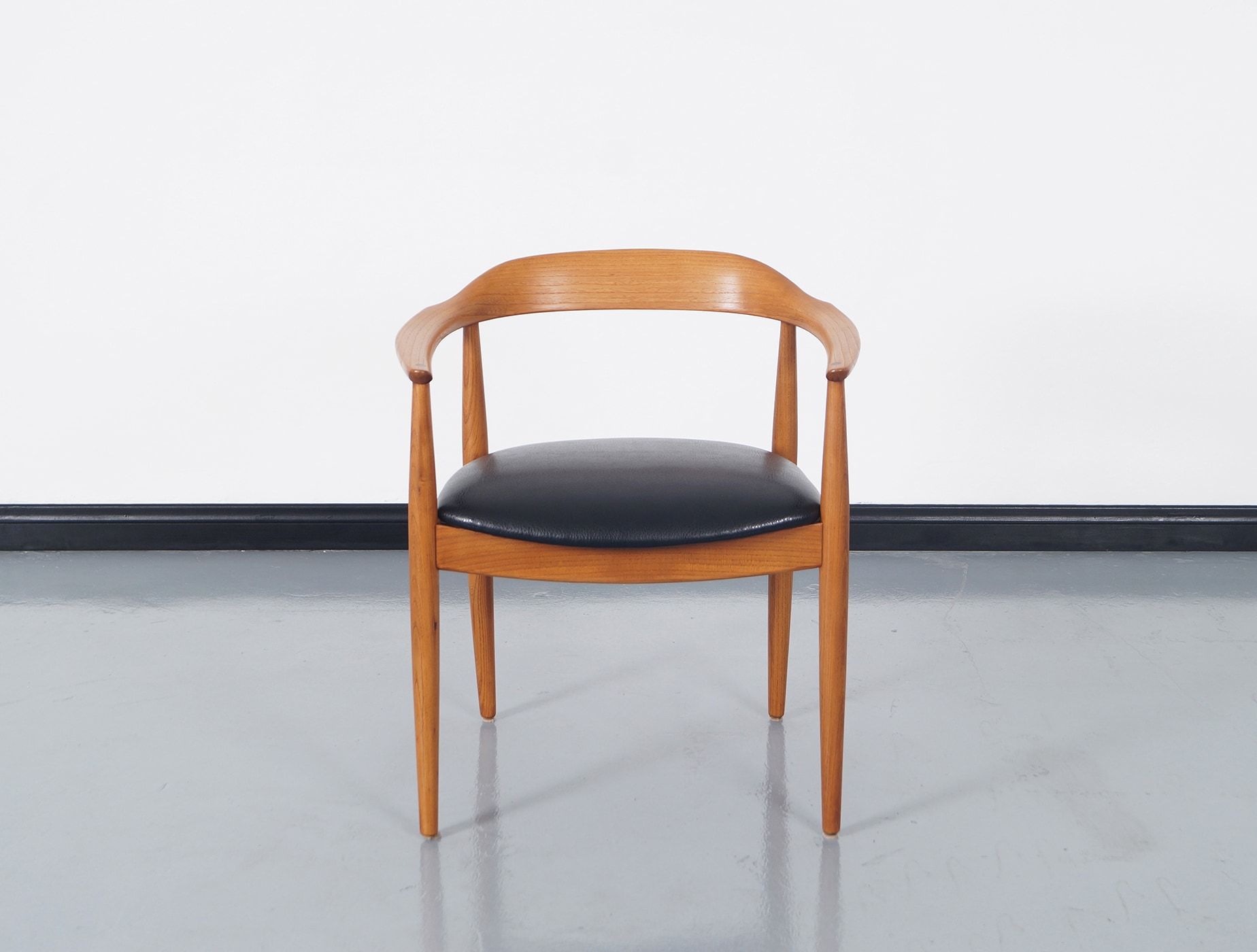 Danish Modern Dining Chairs by Niels Eilersen