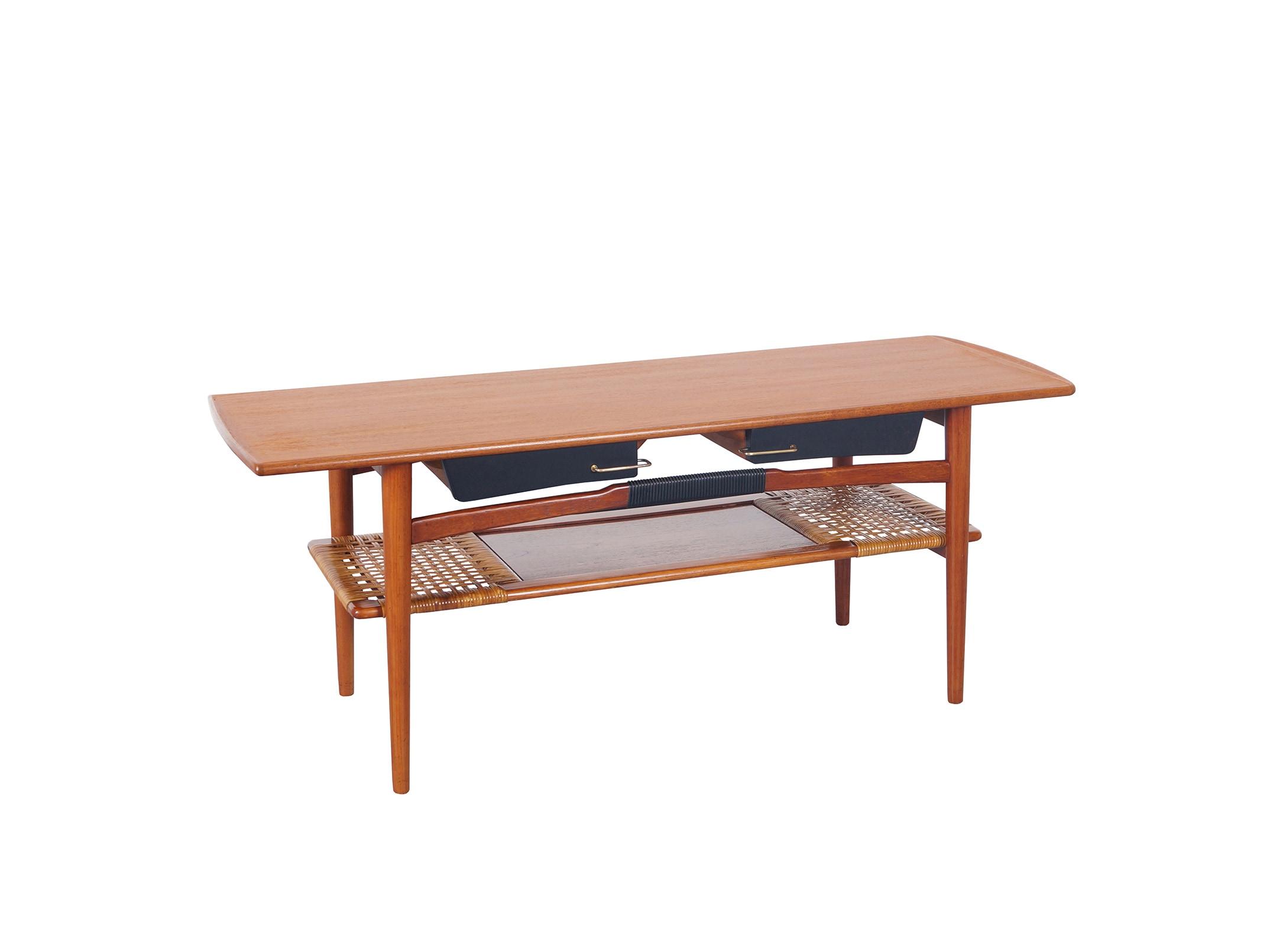 Danish Modern Teak Coffee Table