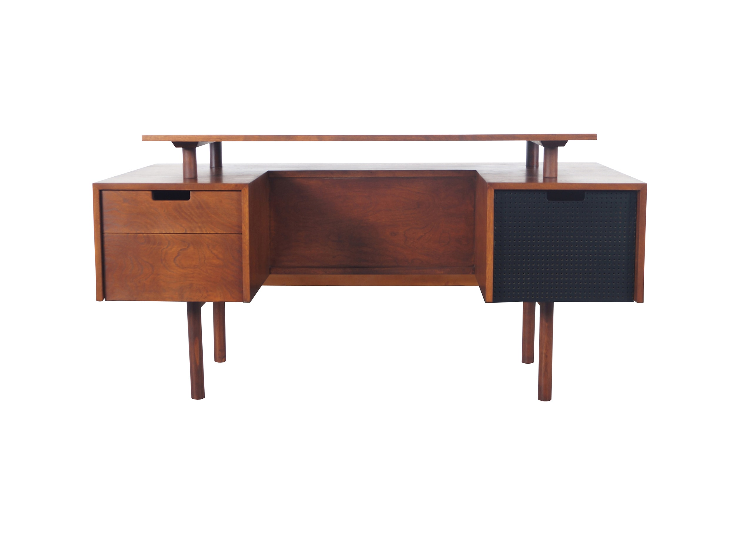 Early Floating Top Desk by Milo Baughman