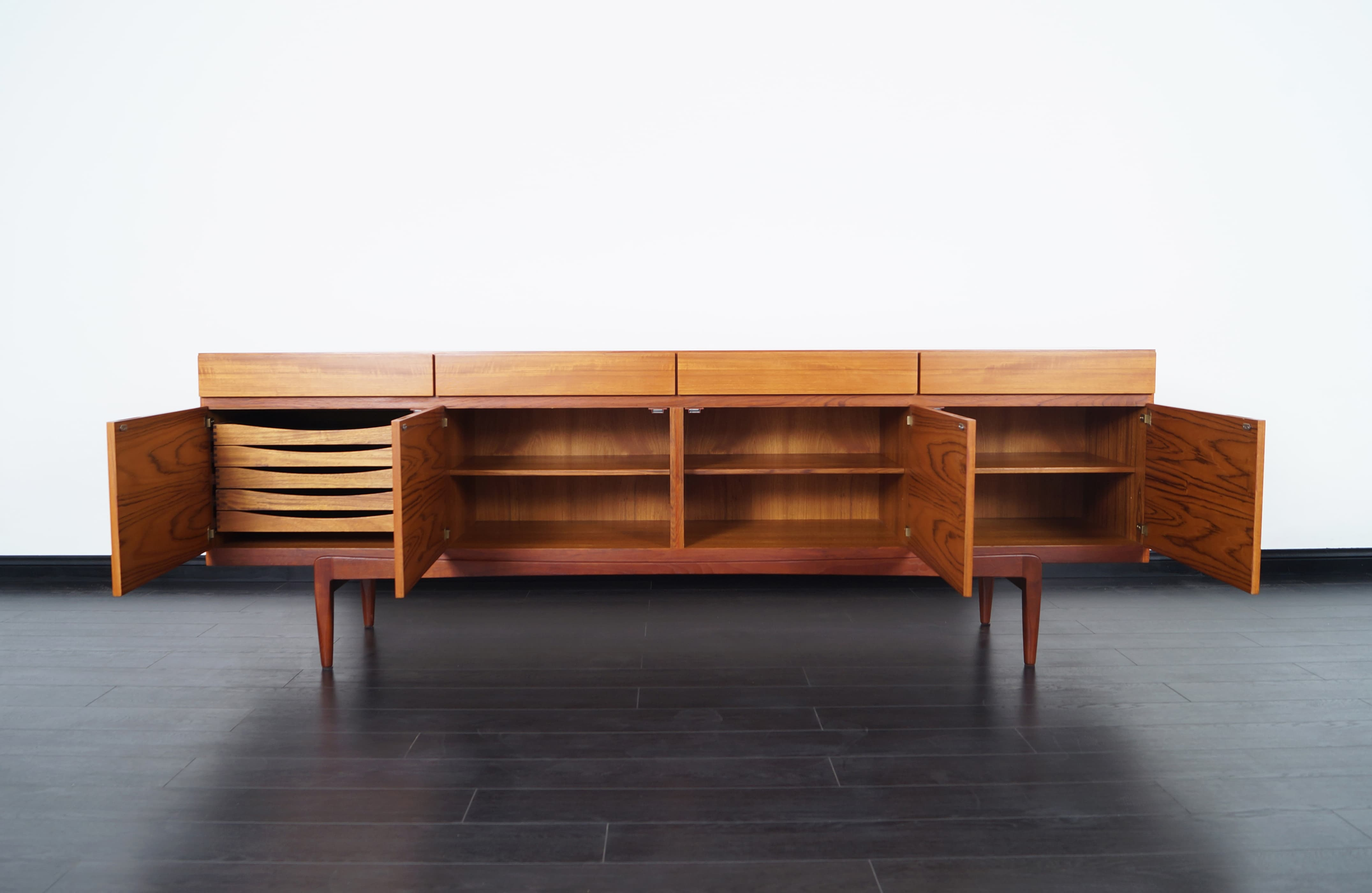 Danish Modern Teak Sideboard by Ib Kofod Larsen