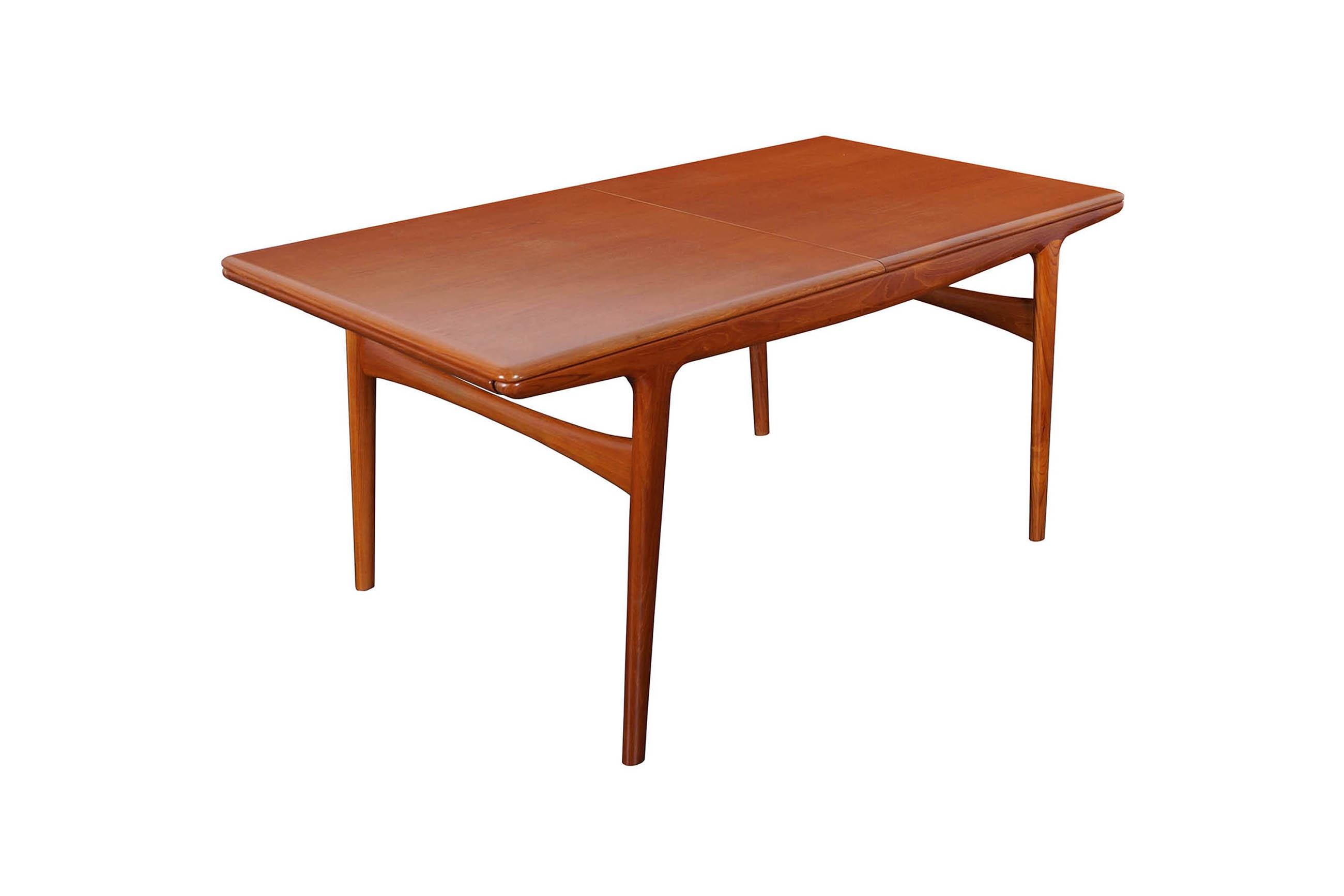 Danish Modern Teak Dinning Table by Arne Hovmand- Olsen