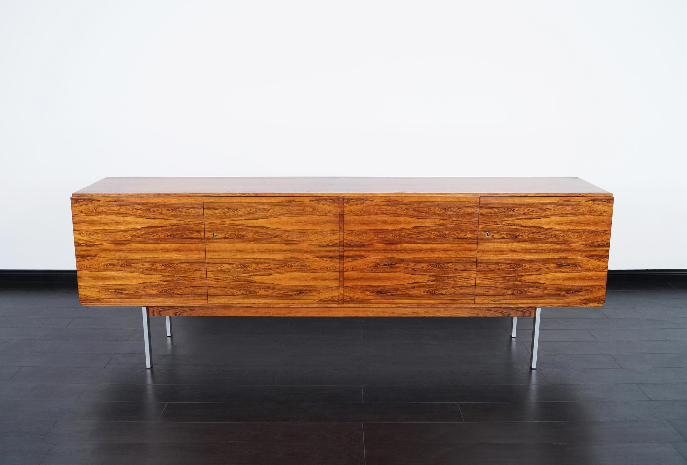 Monumental Rosewood Credenza