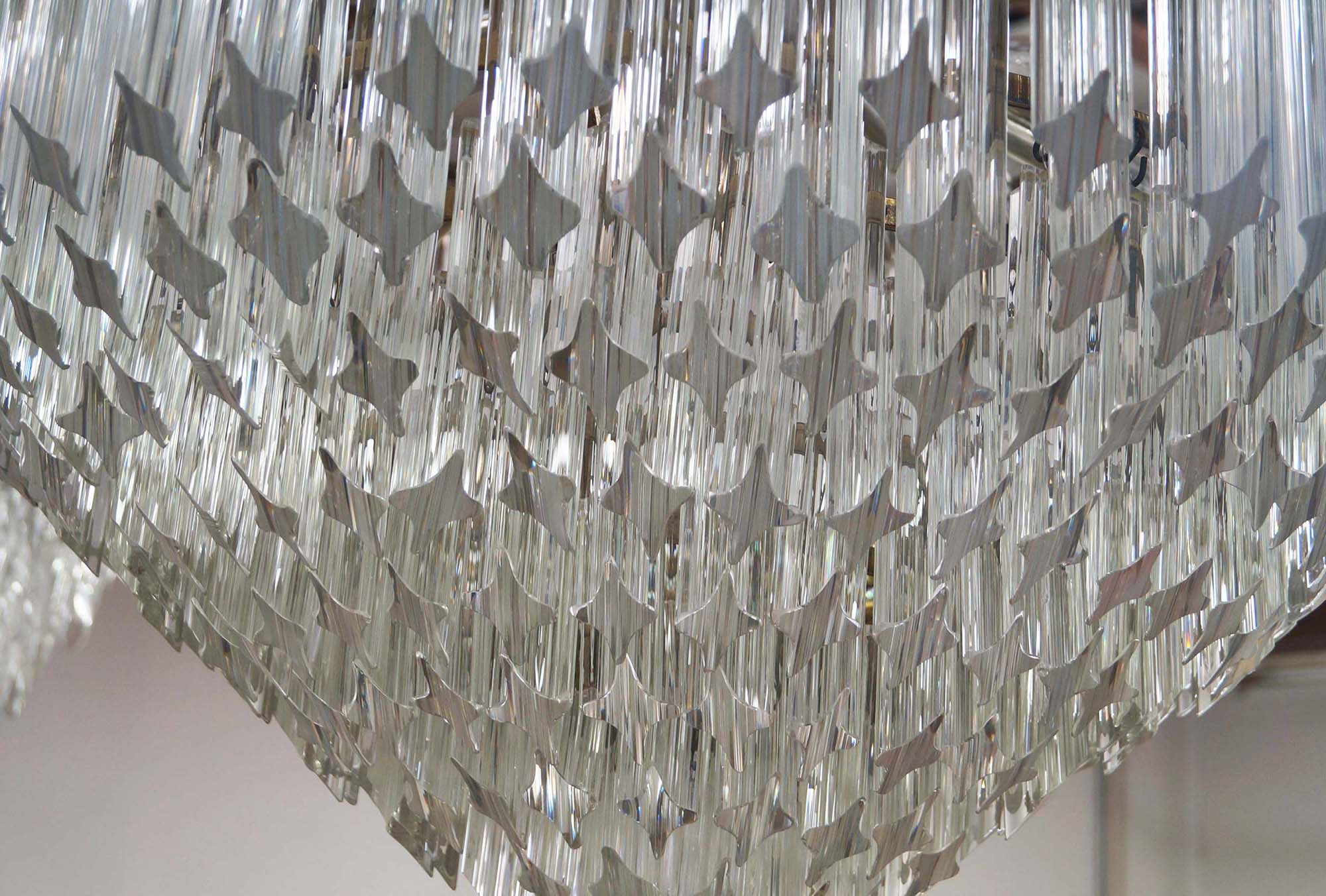 Murano Glass Chandelier by Venini