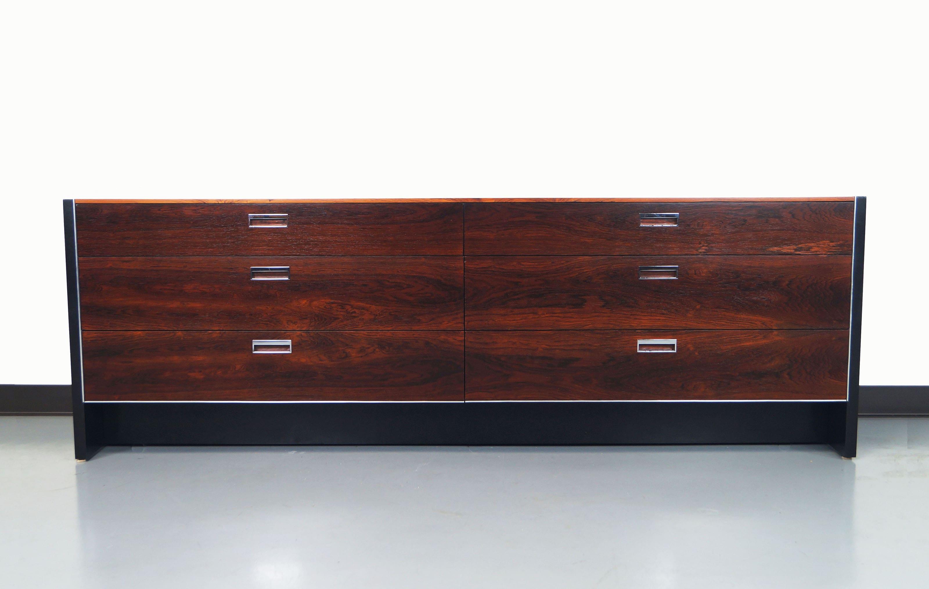 Rosewood Dresser by Robert Baron for Glenn of California