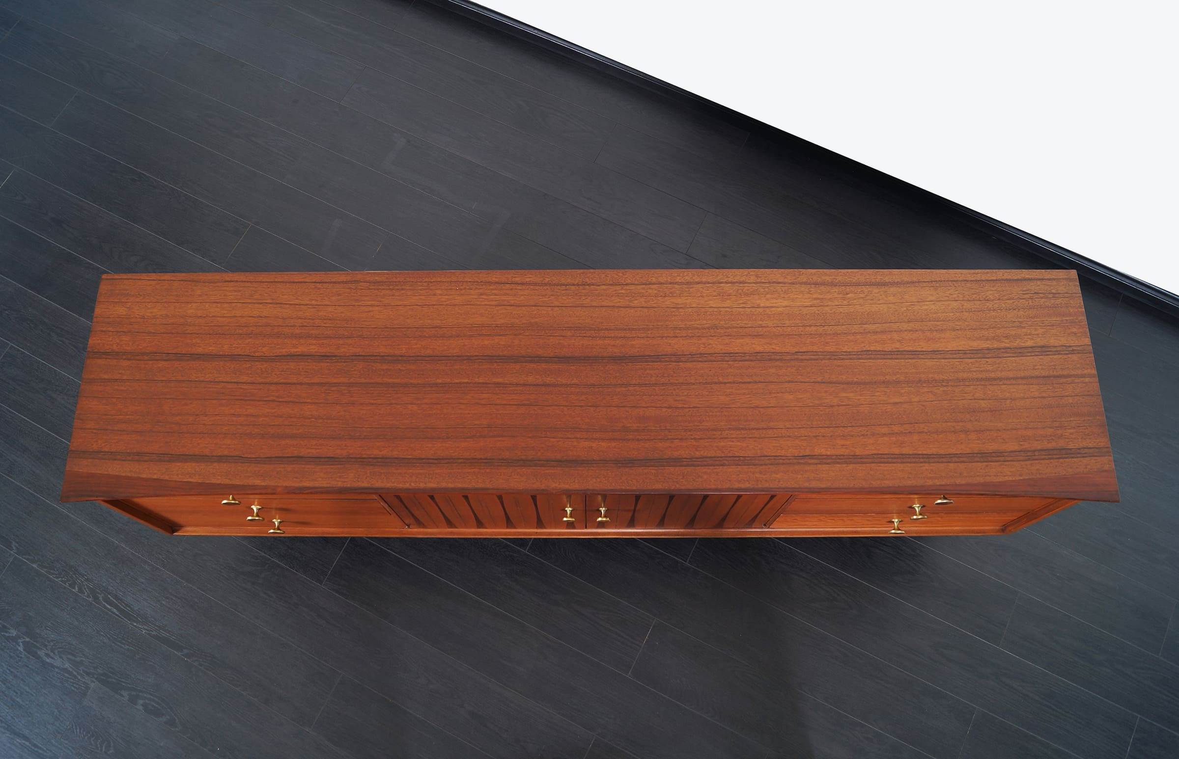Mid Century Credenza with Rosewood Inlaid by Lane