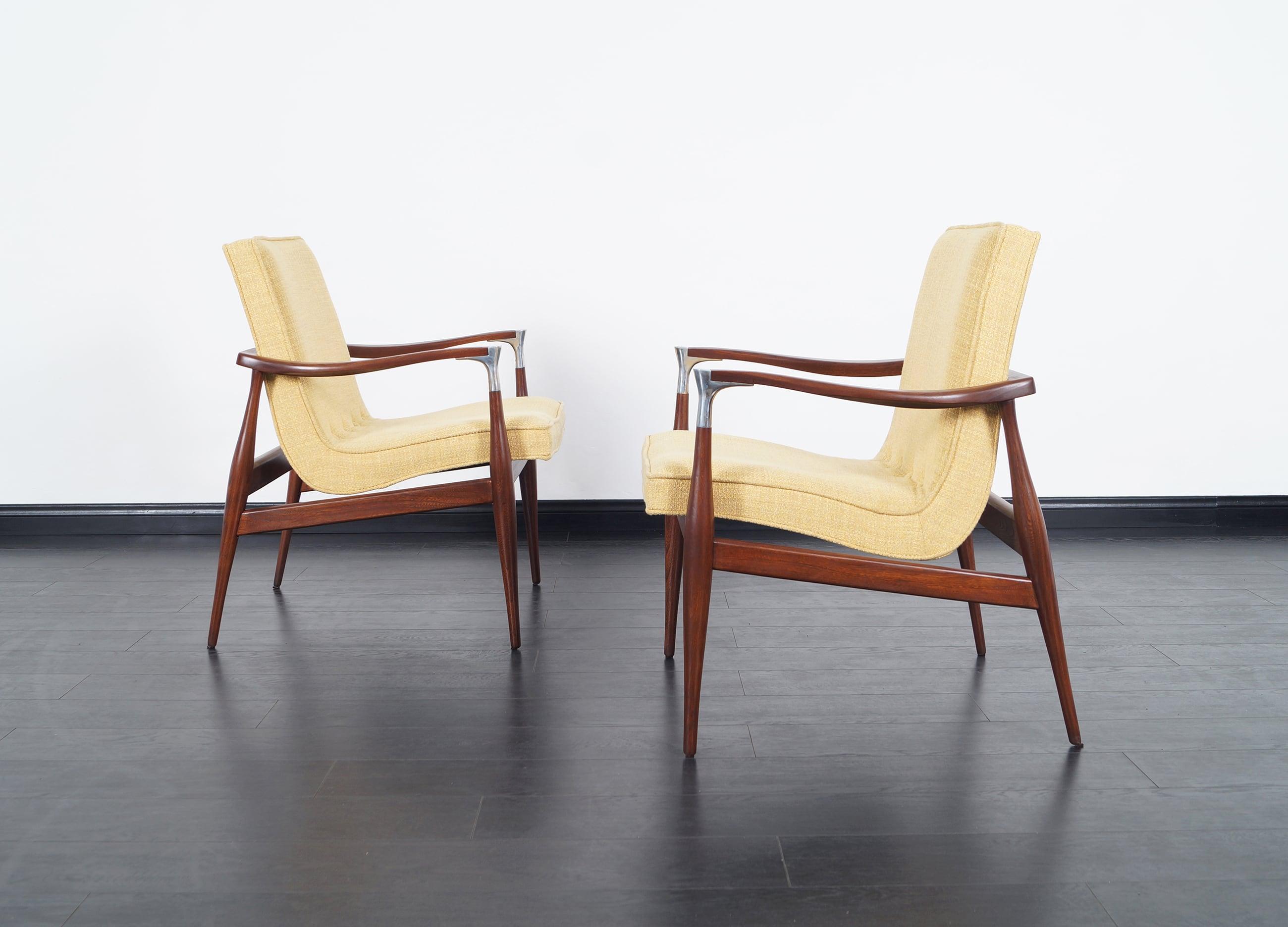 Danish Modern Chairs by Ib Kofod Larsen