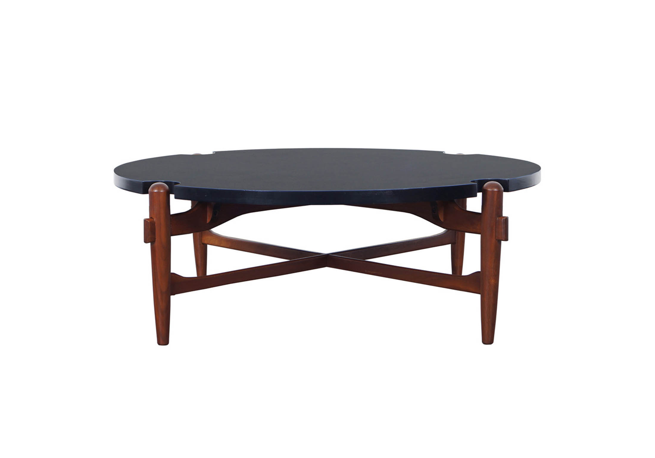Vintage Coffee Table Attributed to Greta Grossman
