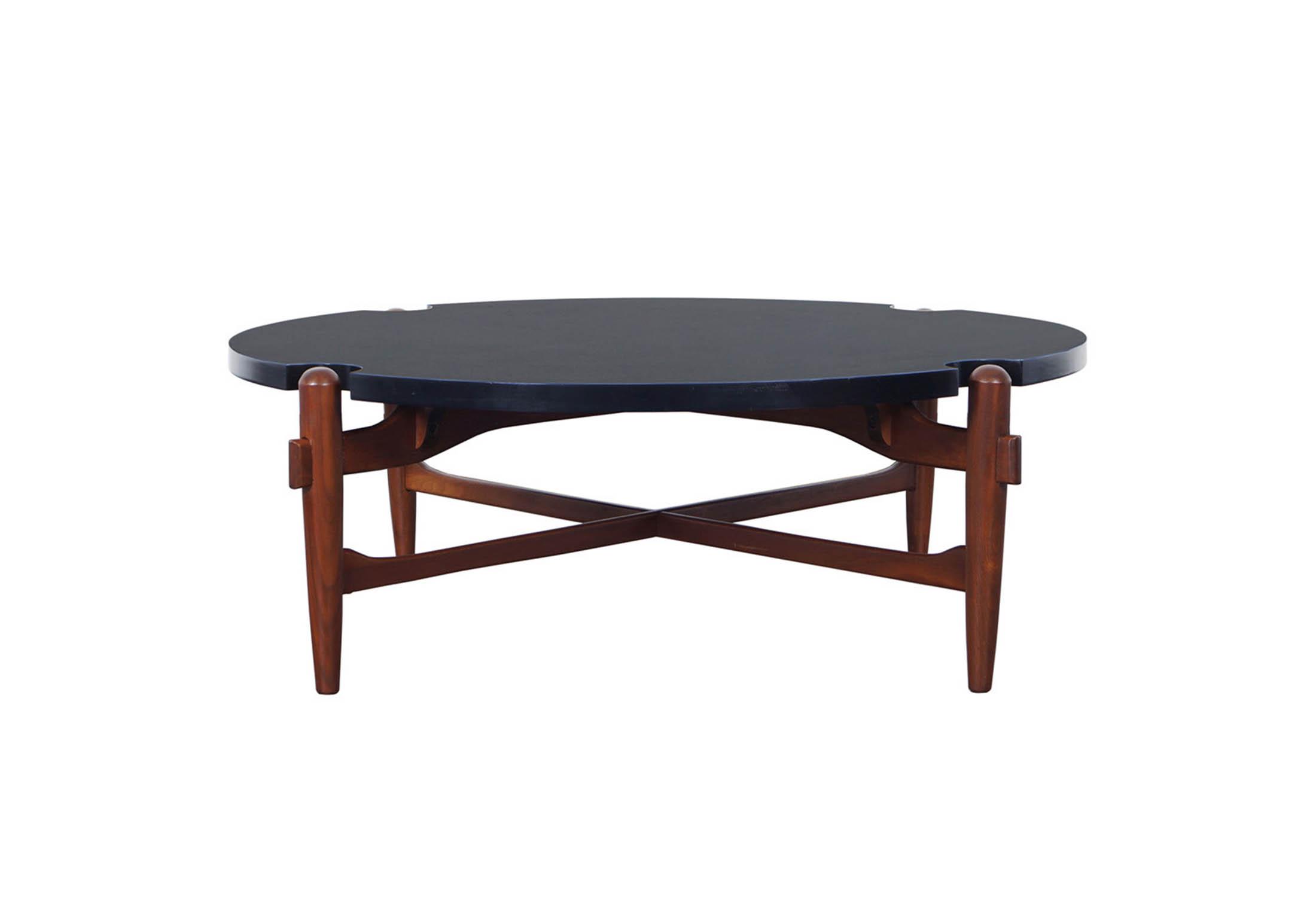 Vintage Coffee Table Attributed to Greta Grossman