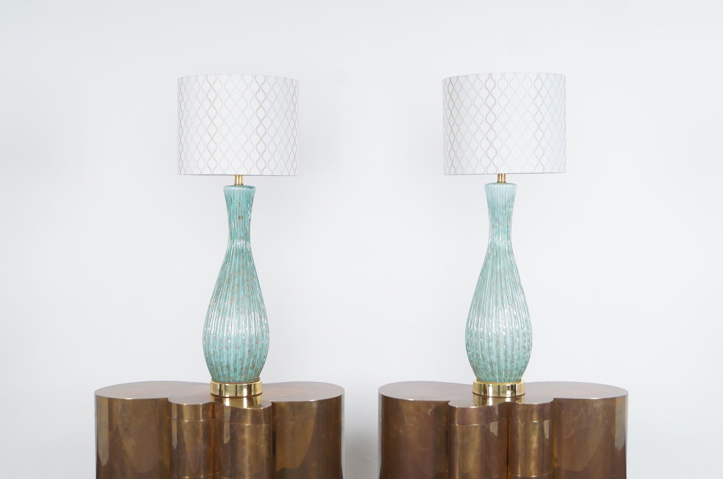 Vintage Murano Glass Lamps