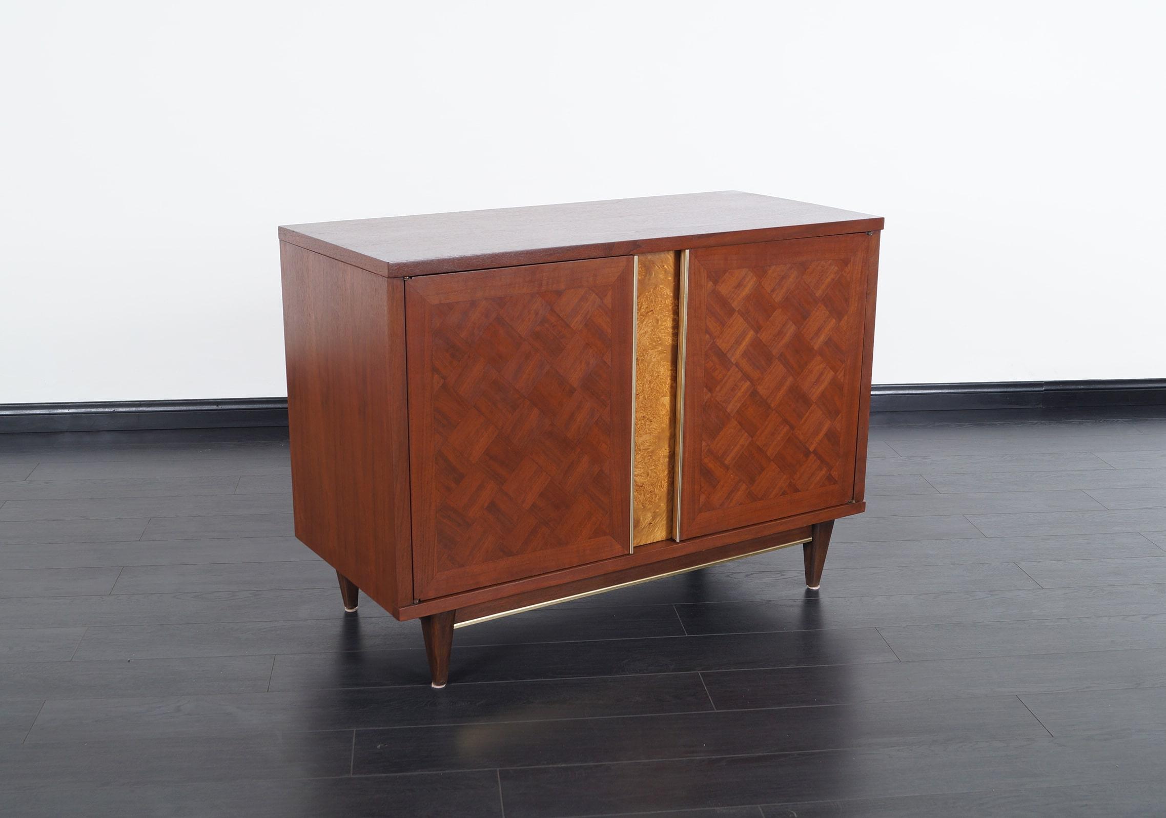 Vintage Walnut Cabinet