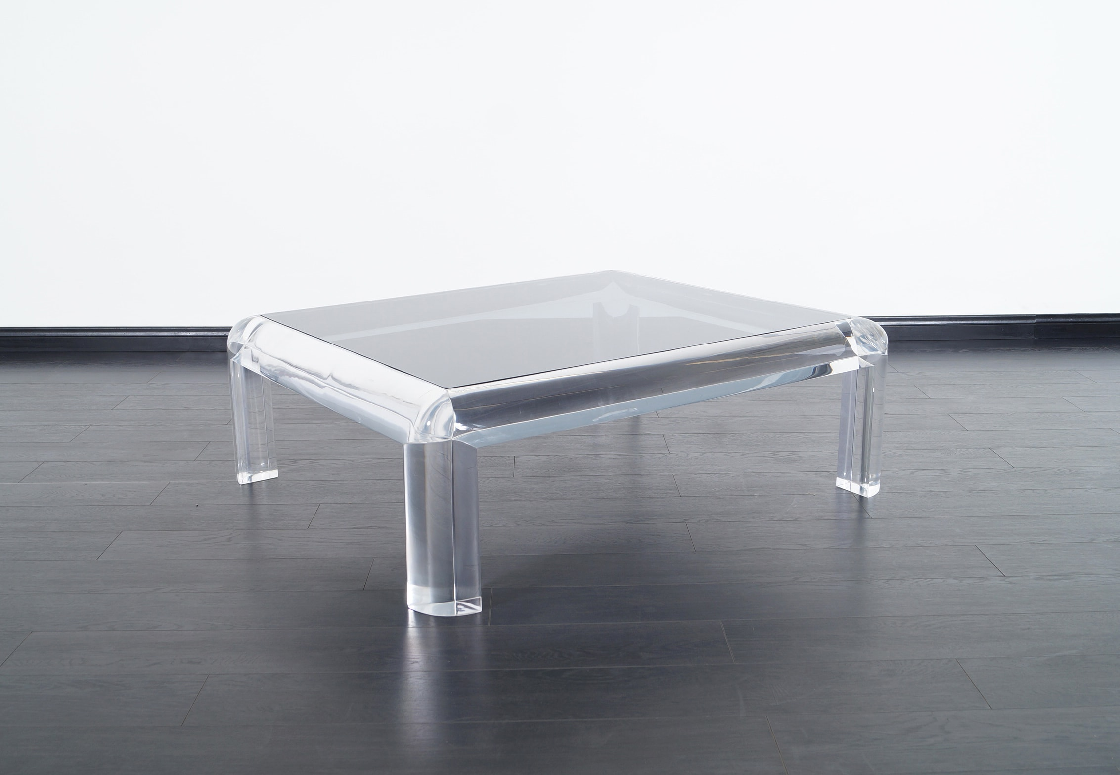 Vintage Lucite Coffee Table