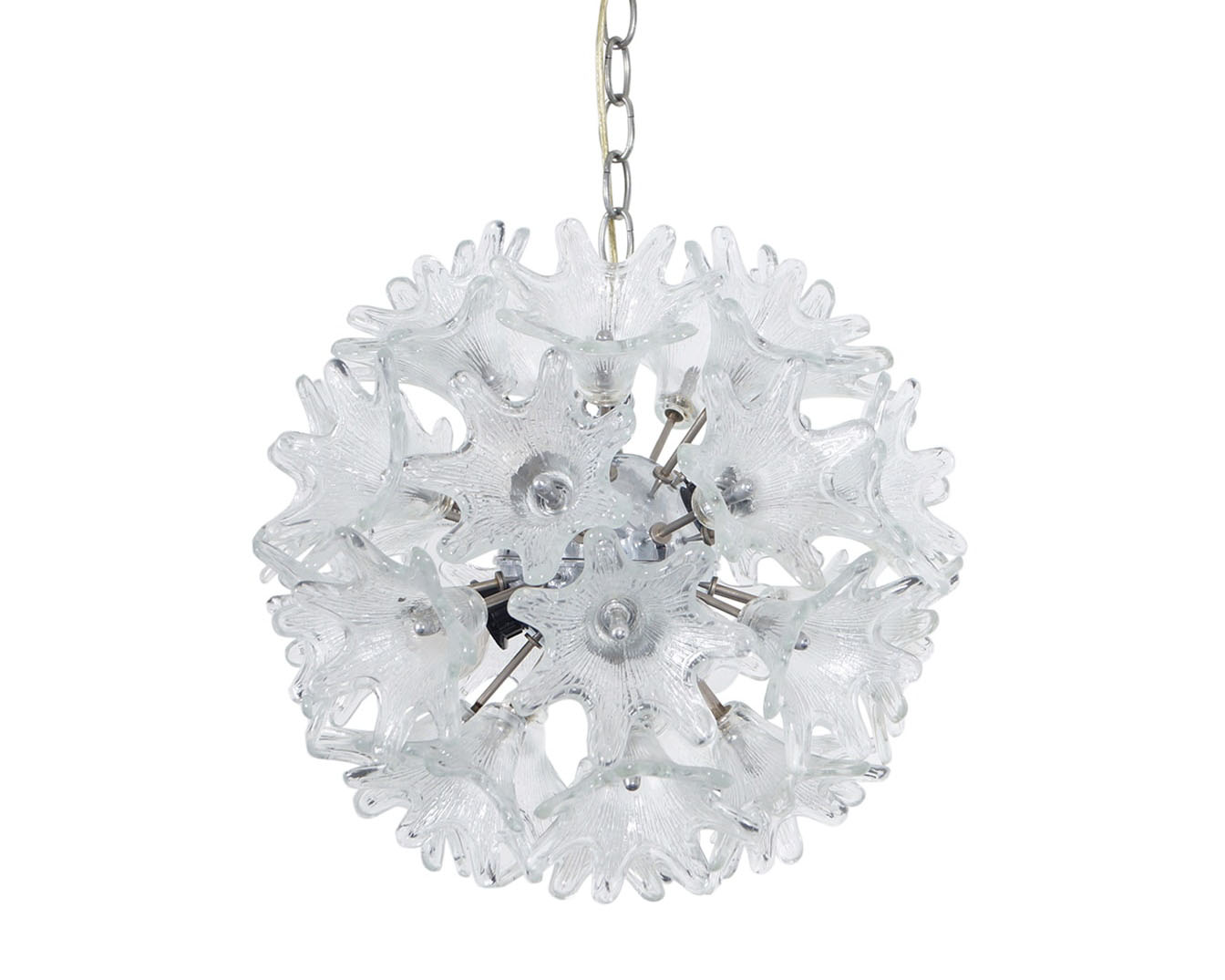 Vintage Espirit Murano Glass Chandelier