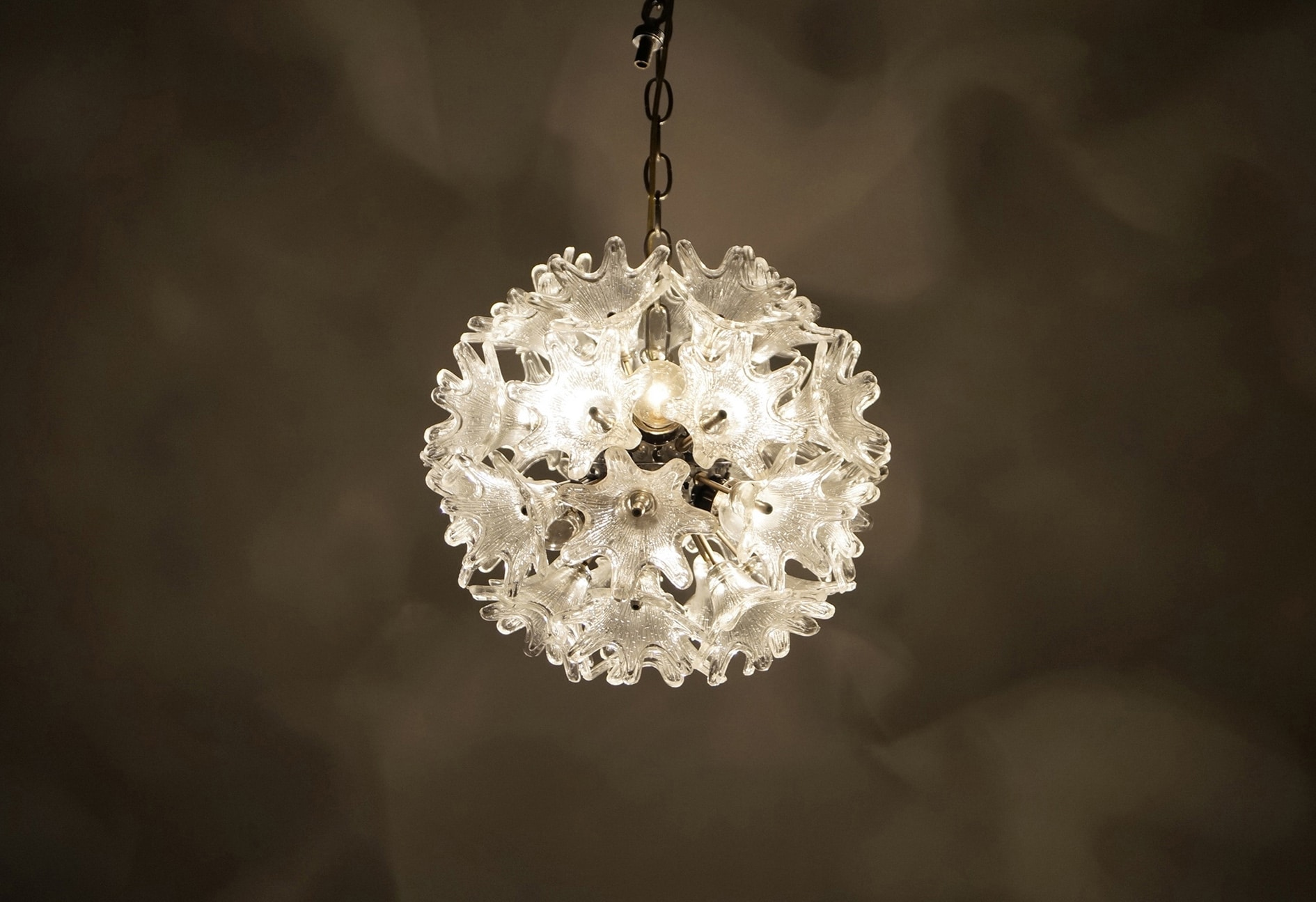 Vintage Espirit Murano Glass Chandelier