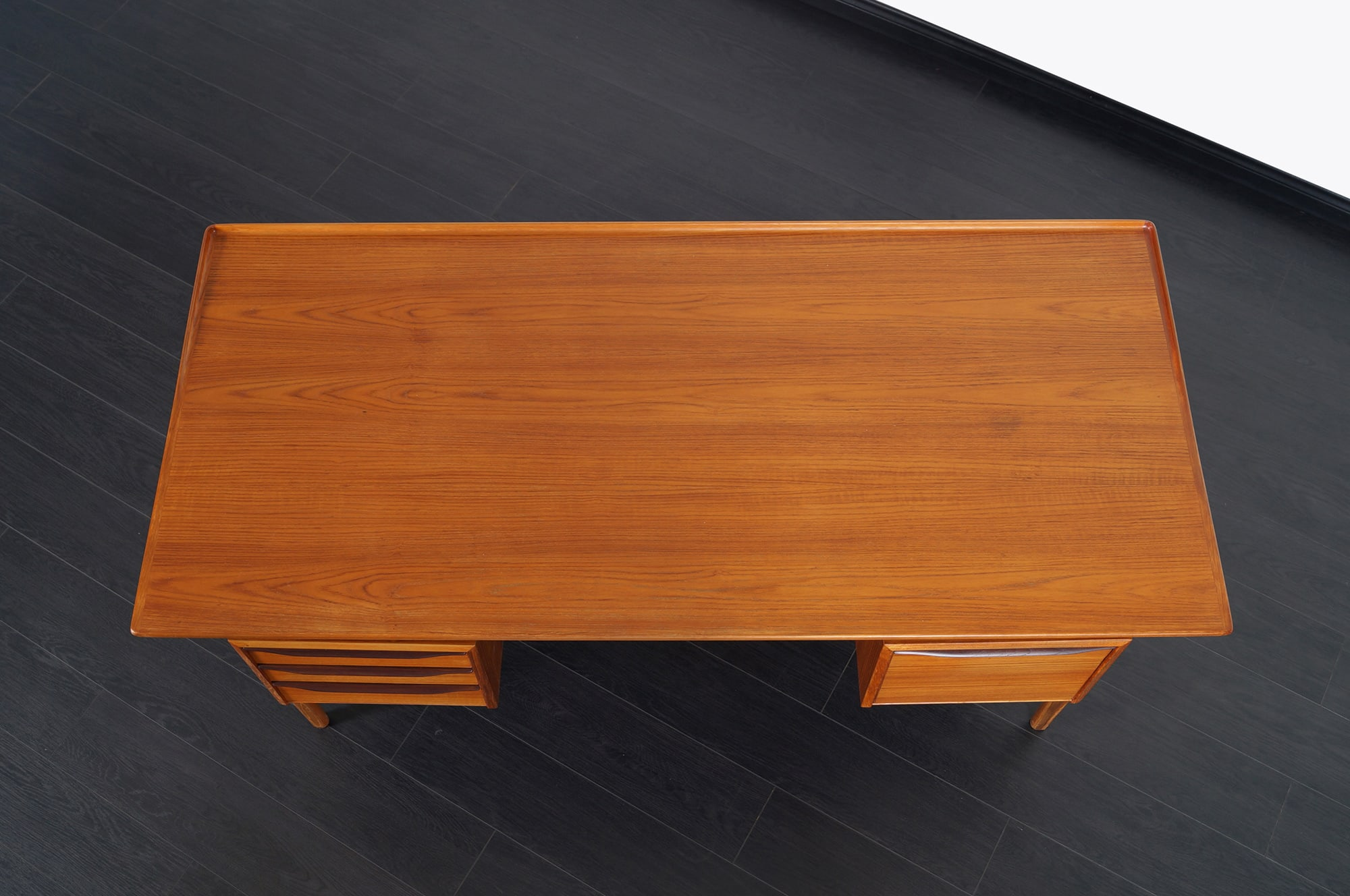 Danish Modern Floating Top Desk by Peter Lovig Nielsen
