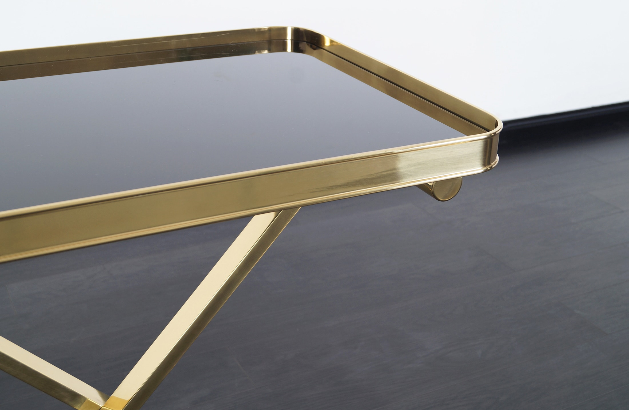 Italian Brass Table Tray