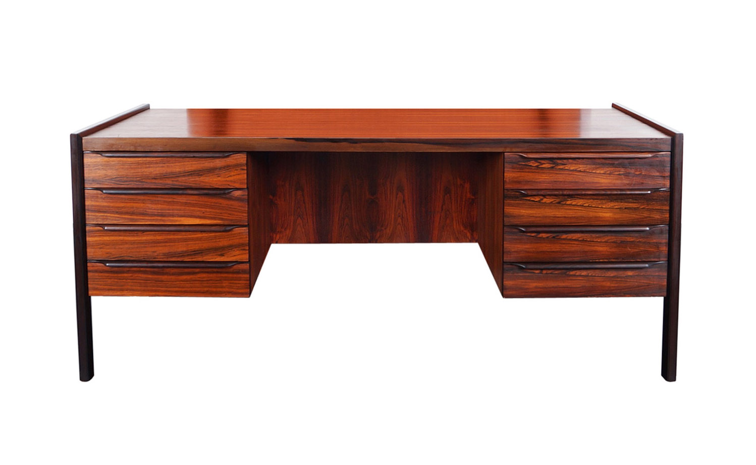 Danish Modern Rosewood Desk