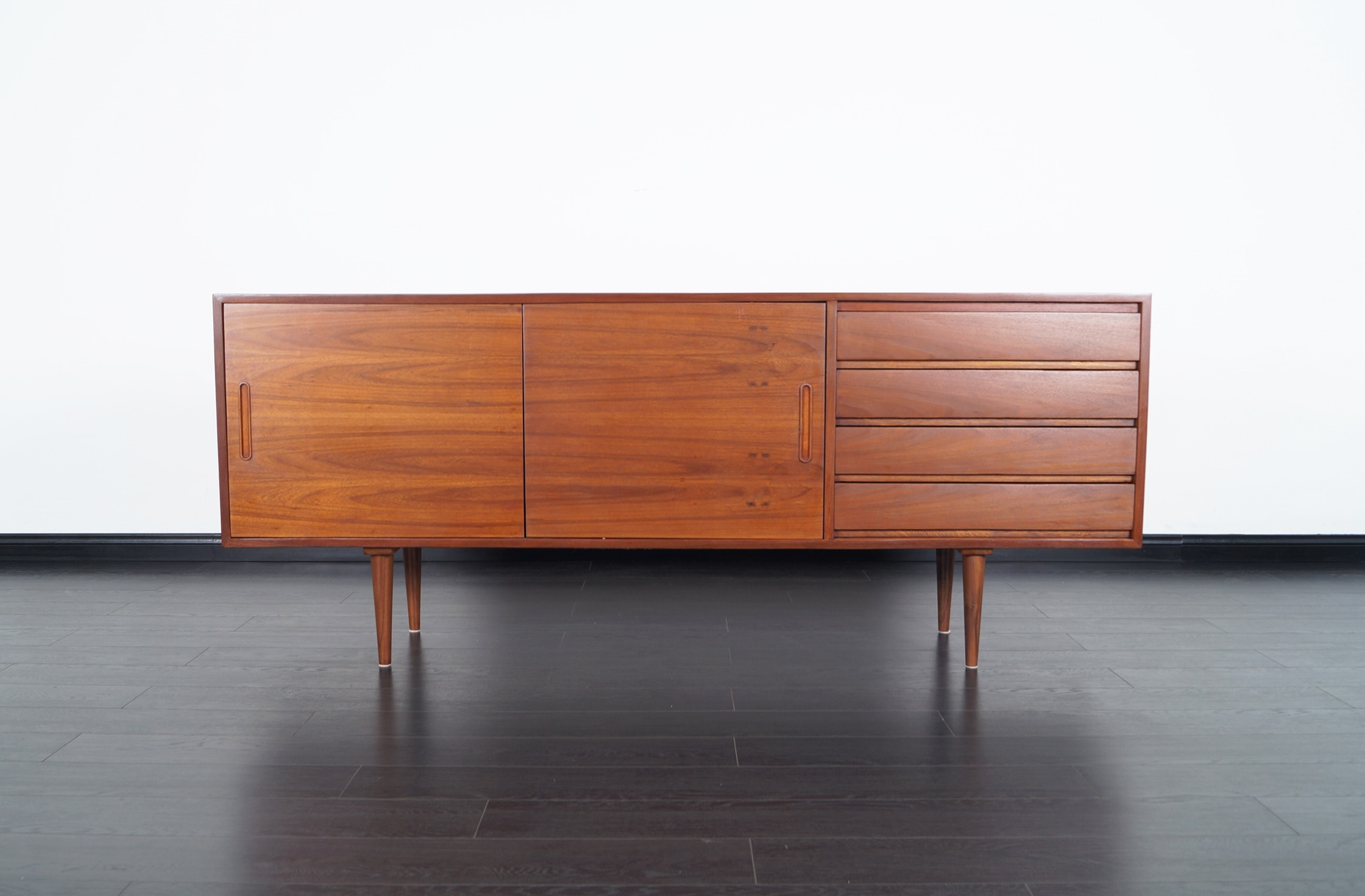 Mid Century Modern Walnut Sideboard