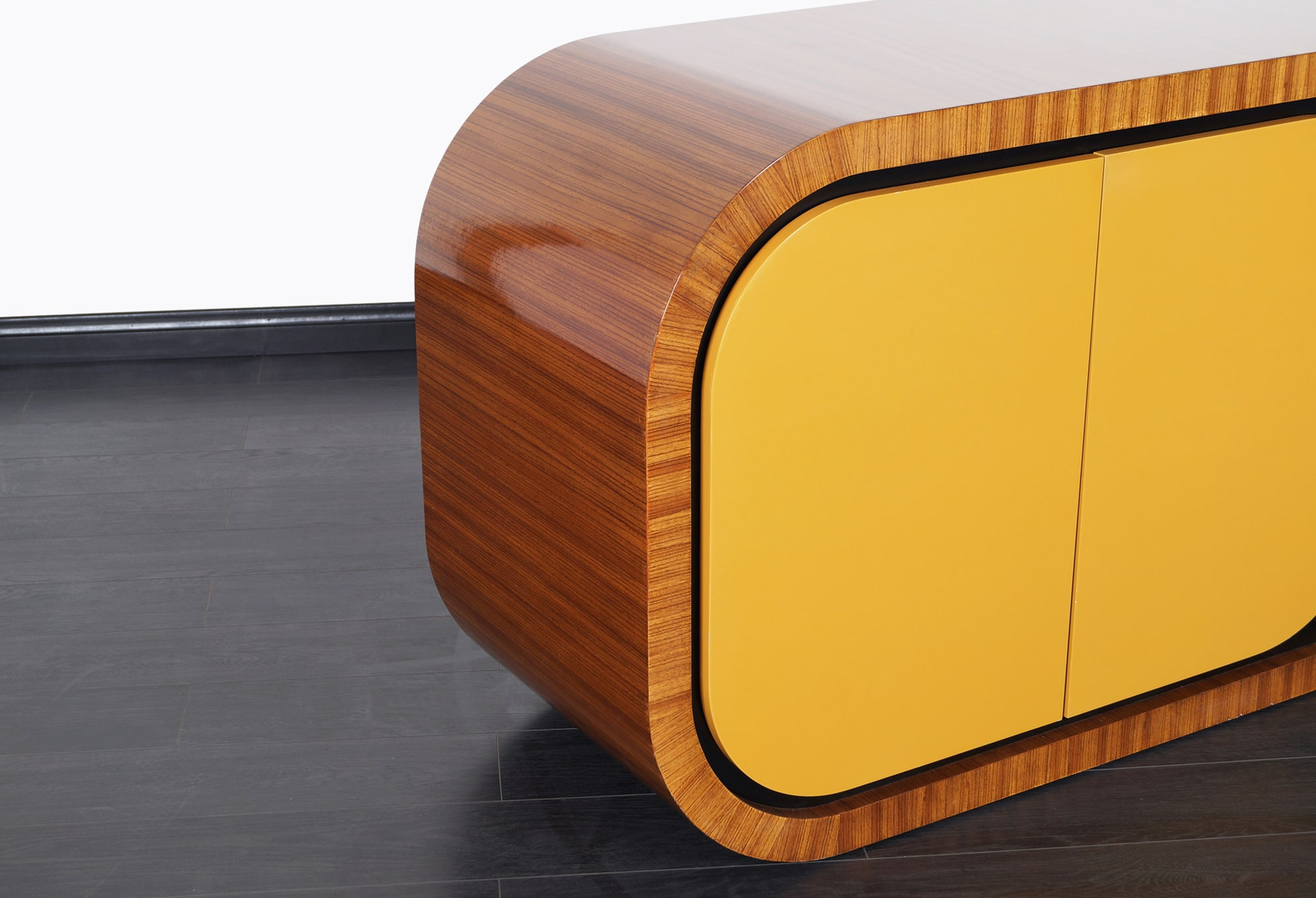 Monumental Curved Credenza