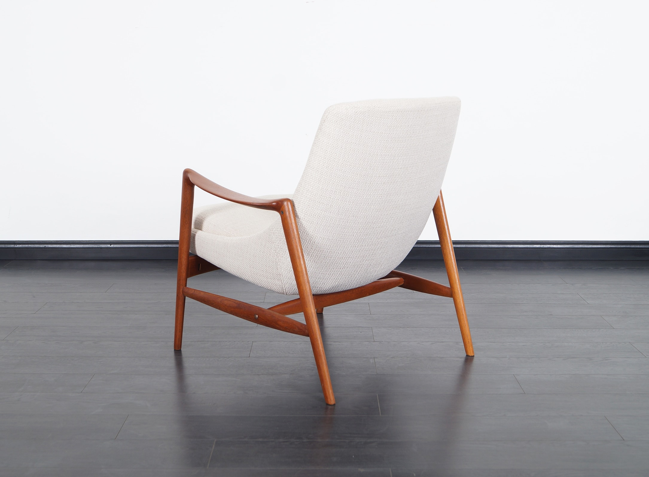 Norwegian Teak Lounge Chairs by Peter Wessel