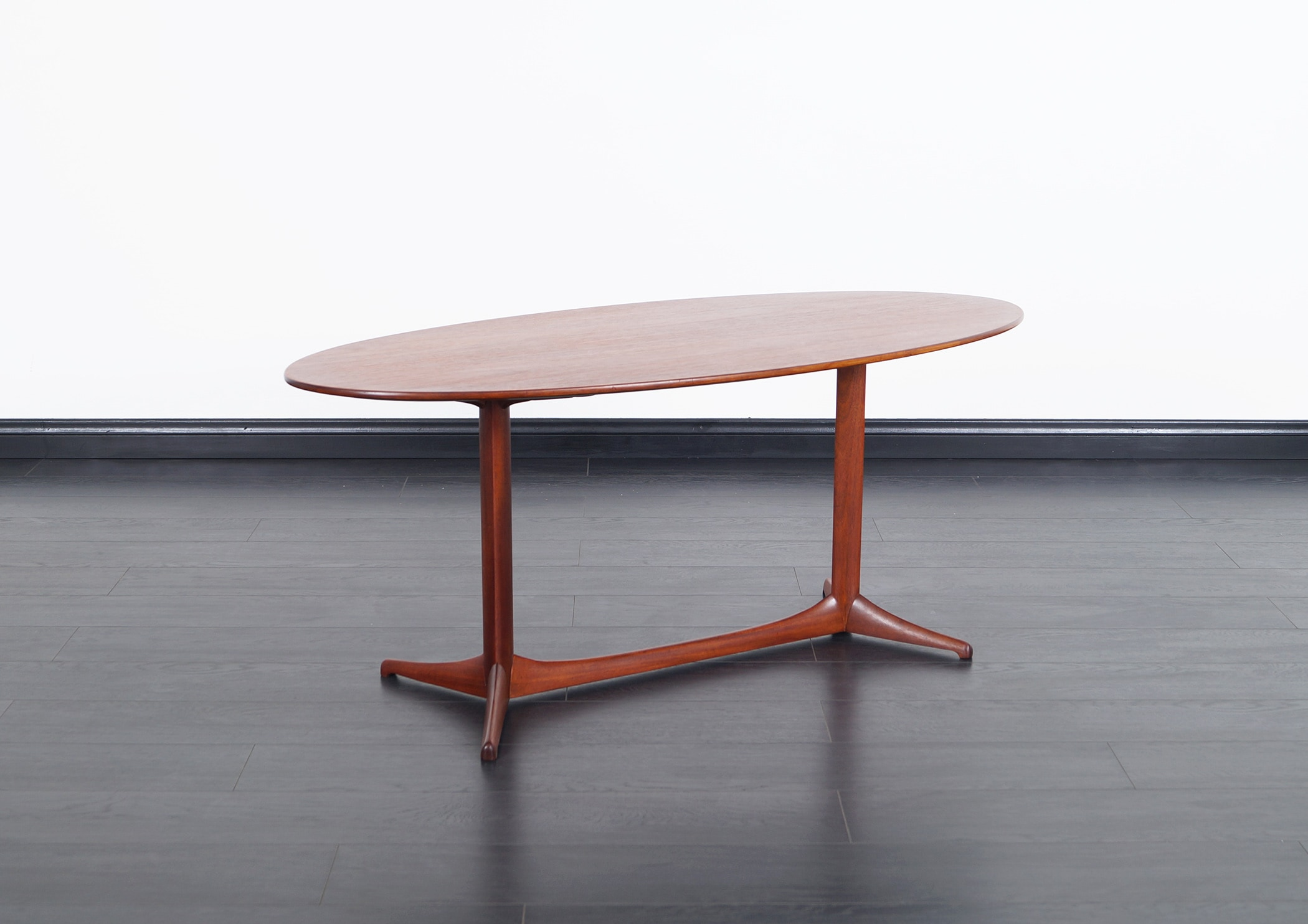 Swedish Teak Coffee Table by Kerstin Horlin-Holmquist