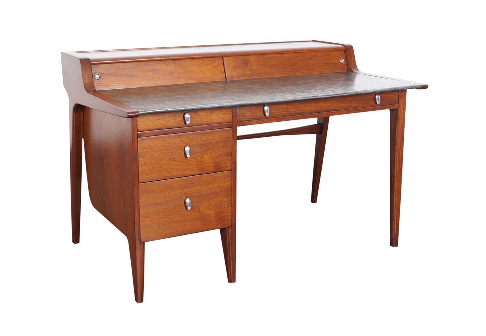 Vintage Drexel Desk by John Van Koert