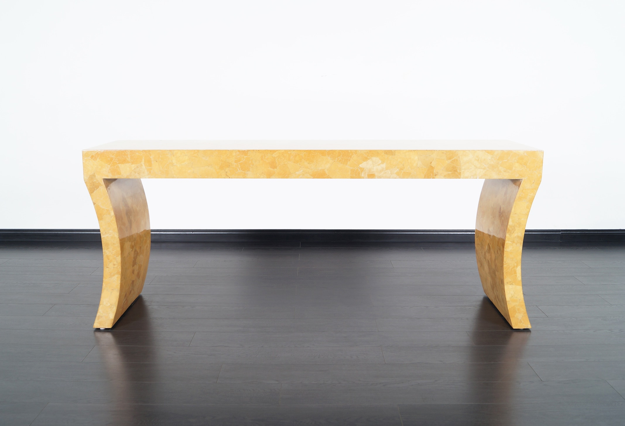 Vintage Craquelure Console Table by Jimeco Itda