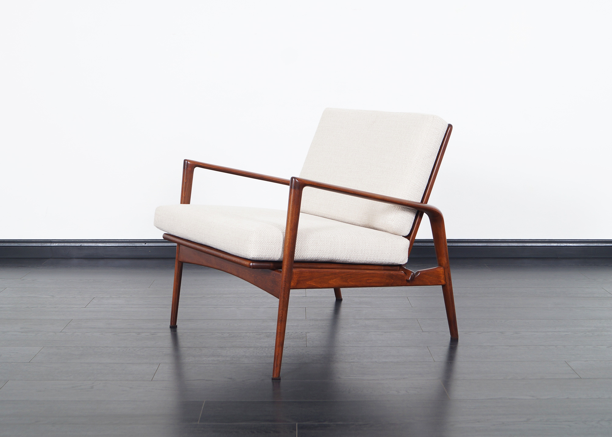 Danish Modern Lounge Chairs by Ib Kofod Larsen