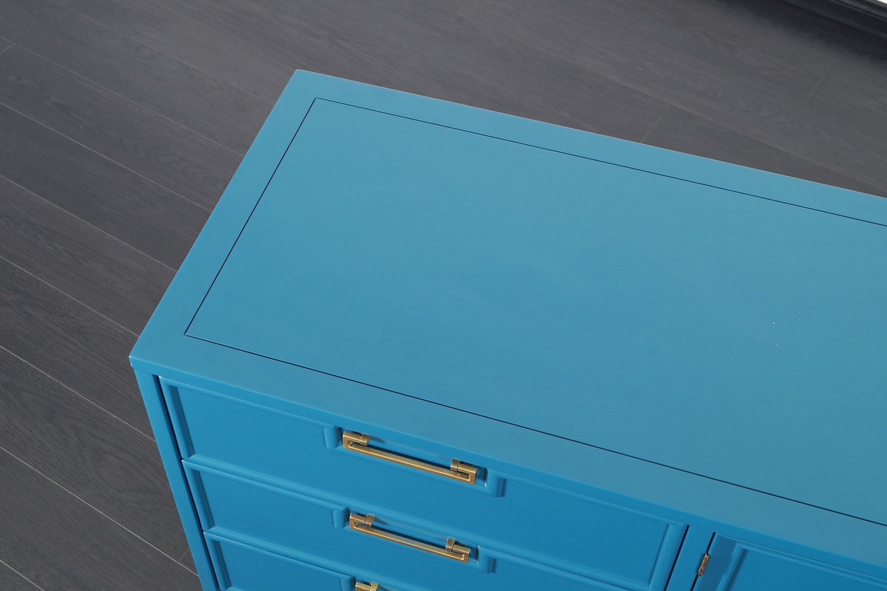 Vintage Lacquered Dresser by American of Martinsville