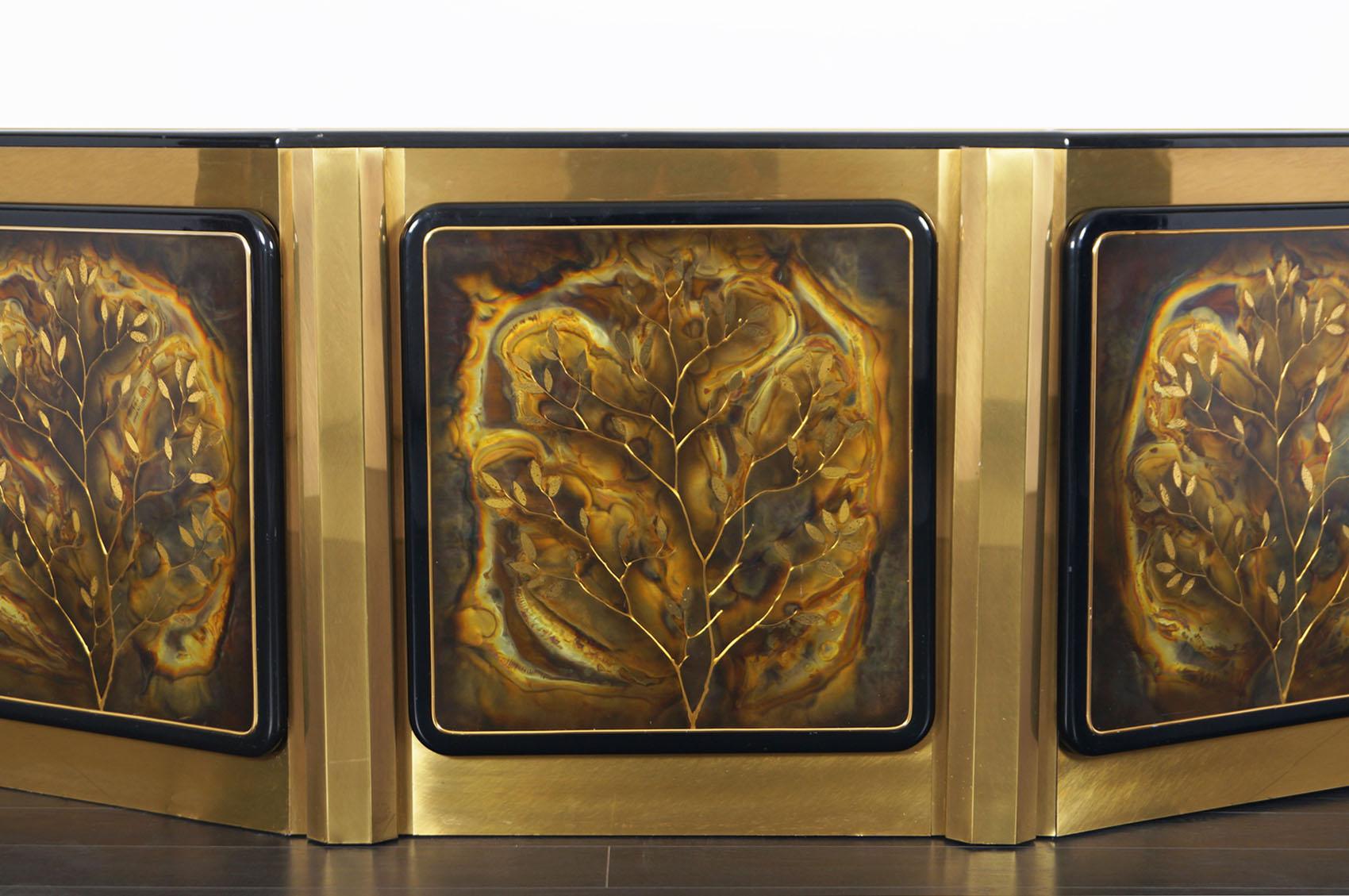 Bernhard Rohne Tree of Life Sideboard for Mastercraft