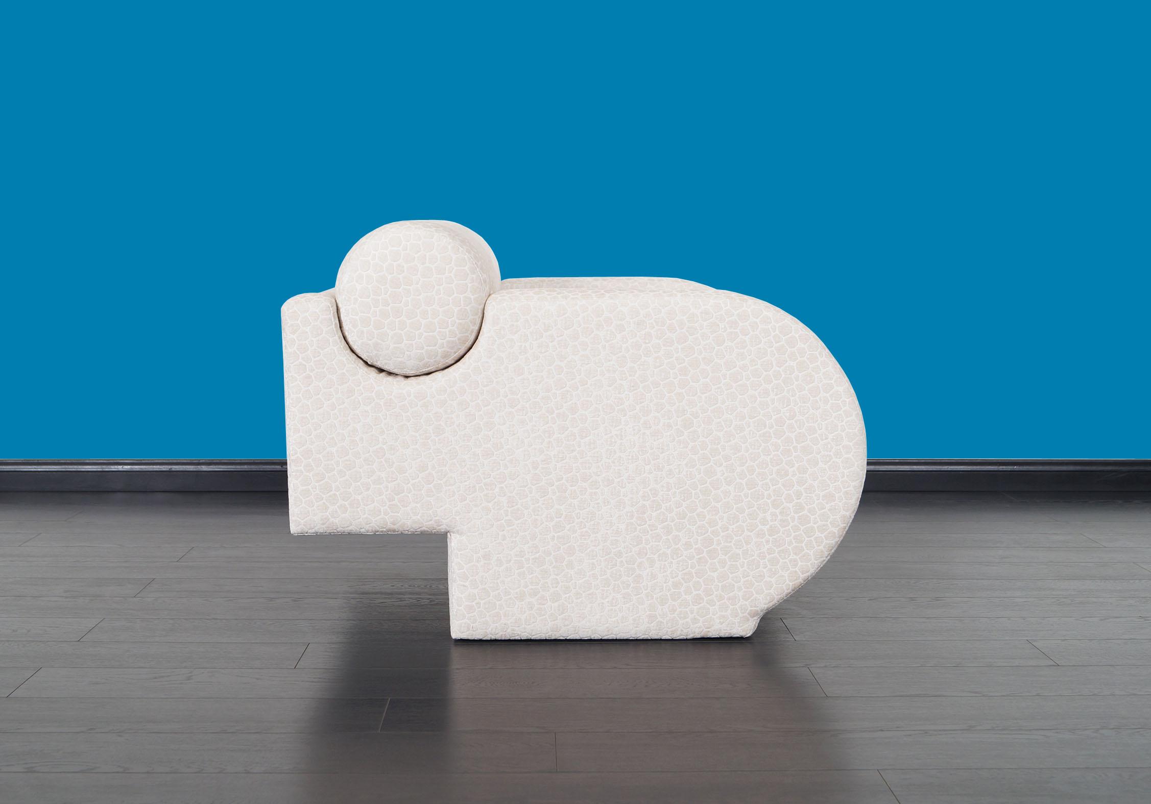 Directional Lounge Chairs by Vladimir Kagan