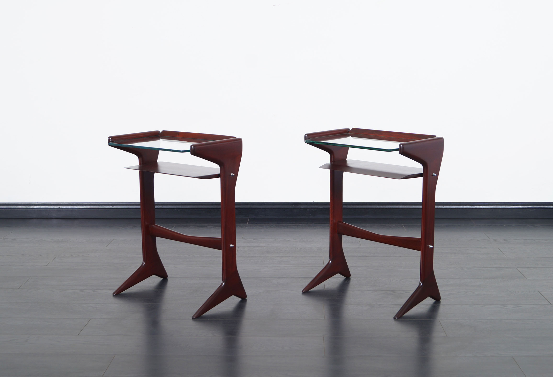 Italian Side Tables by Ico Parisi