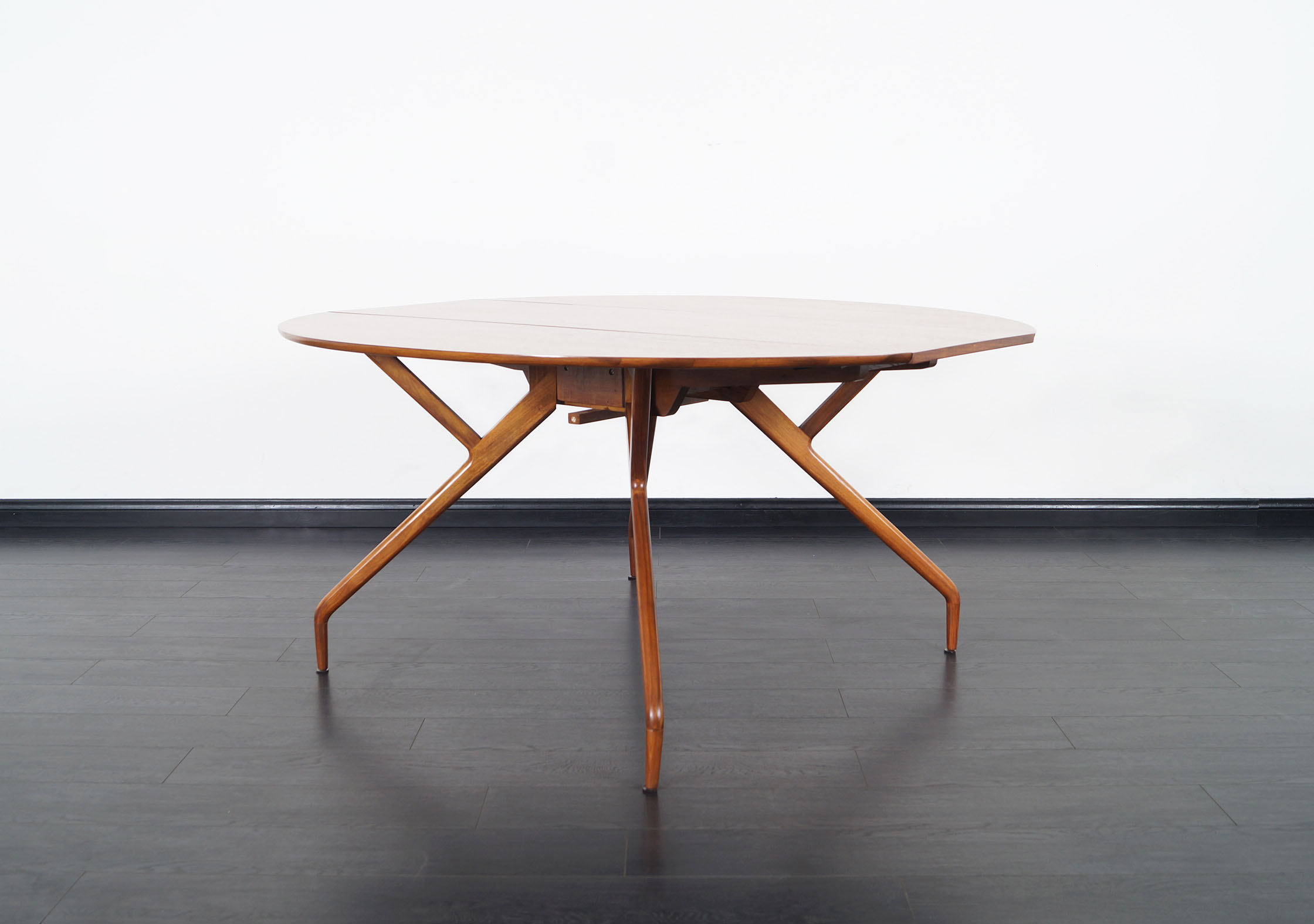 Vintage Spider Dining Table by Ed Frank for Glenn of California