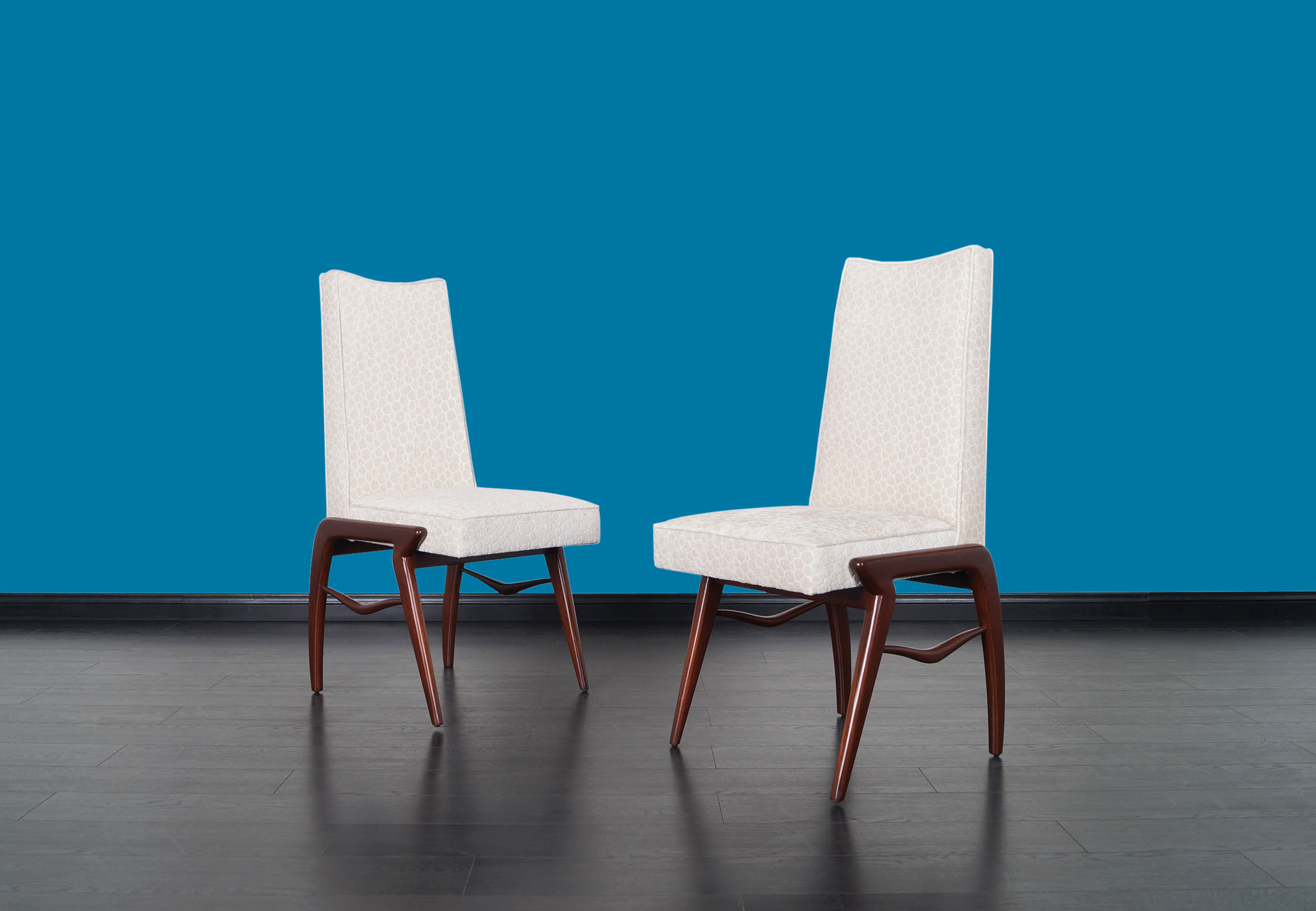 Mexican Modernist Dining Chairs by Eugenio Escudero