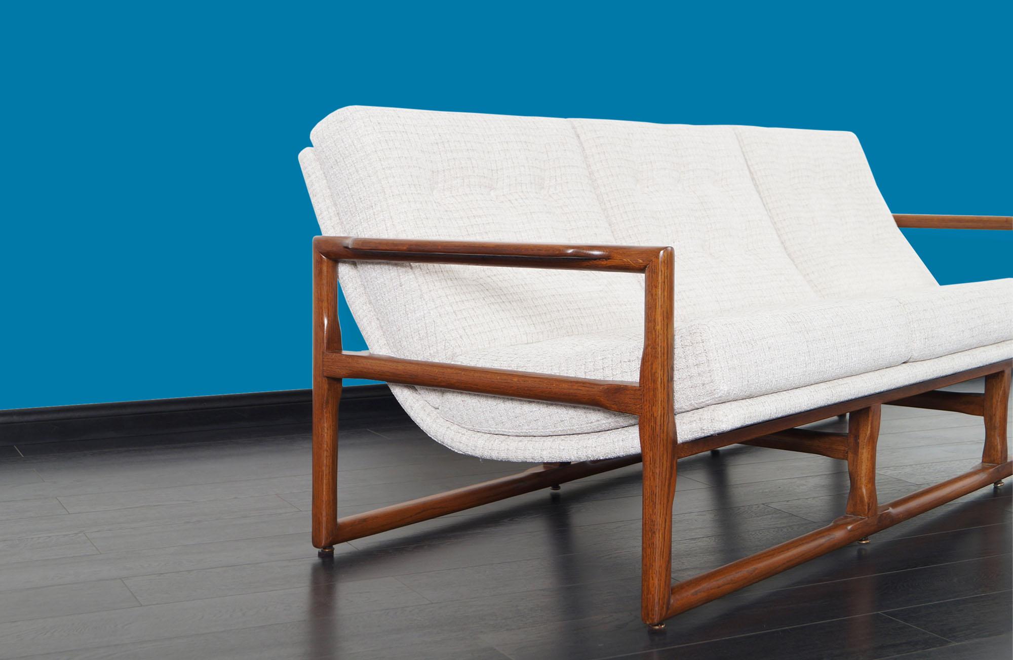 Mid Century Cube Sofa by Milo Baughman