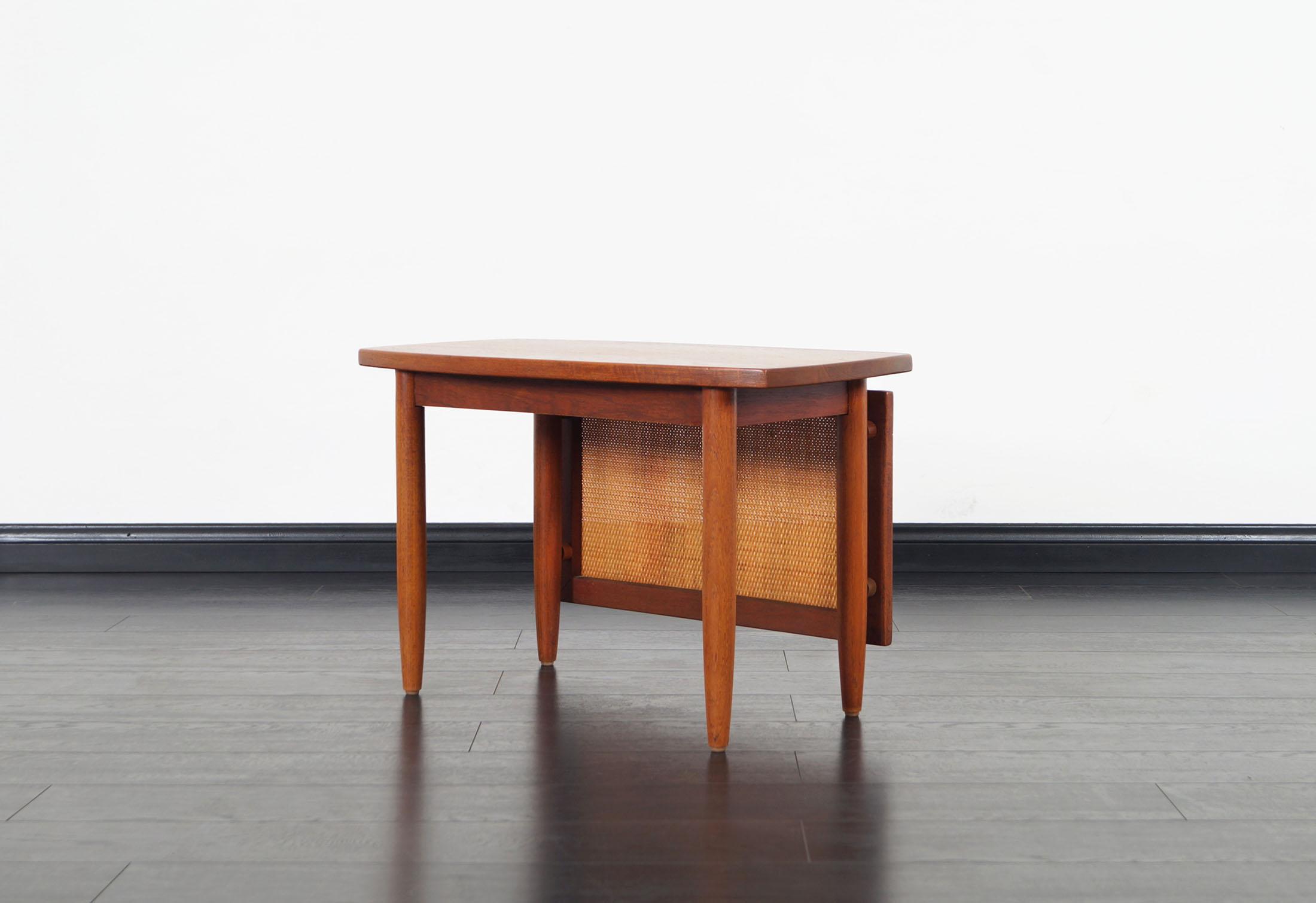 Danish Modern Teak Side Tables by Peter Hvidt