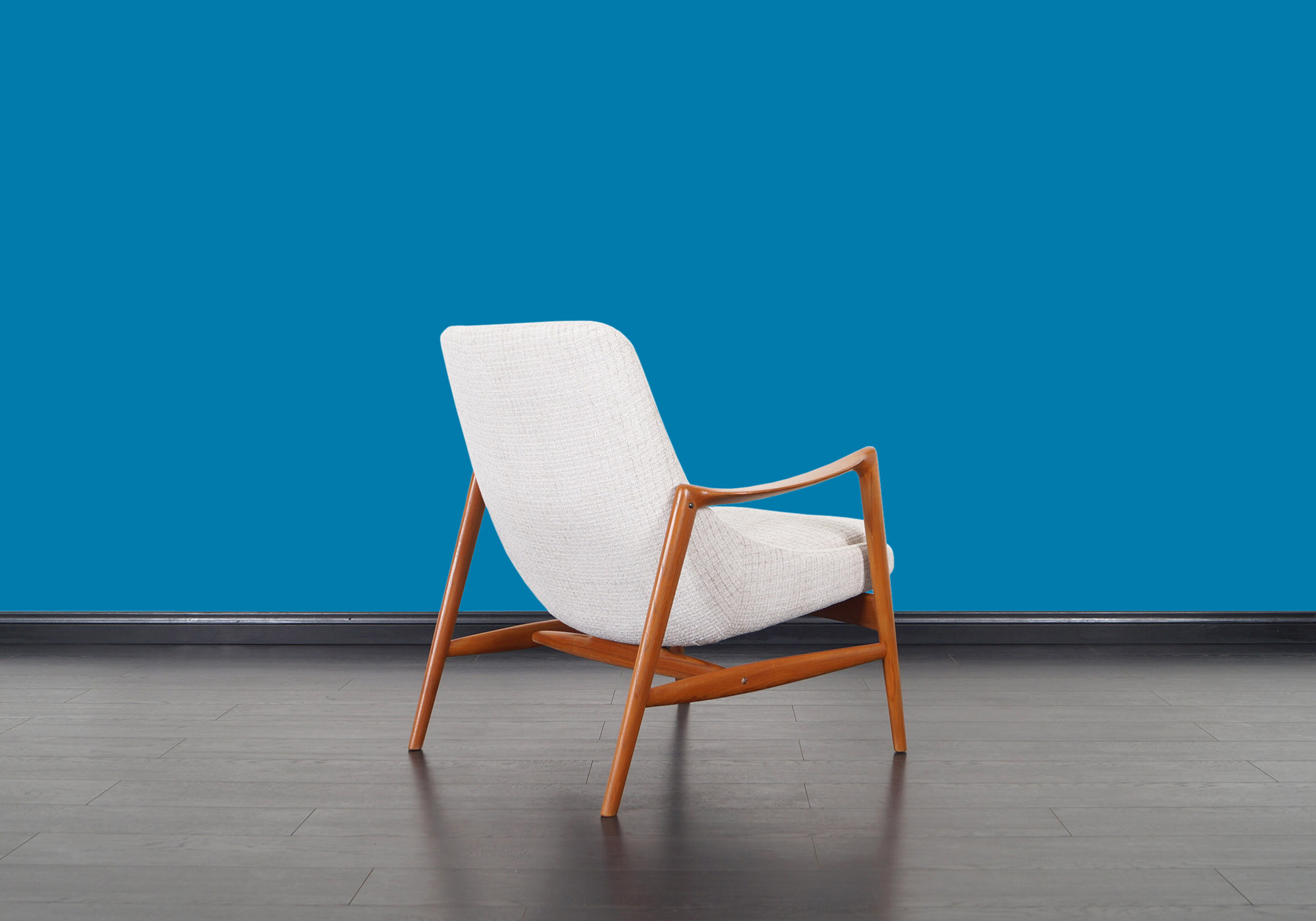 Norwegian Teak Lounge Chairs by Rolf Rastad for Bokka Møbler