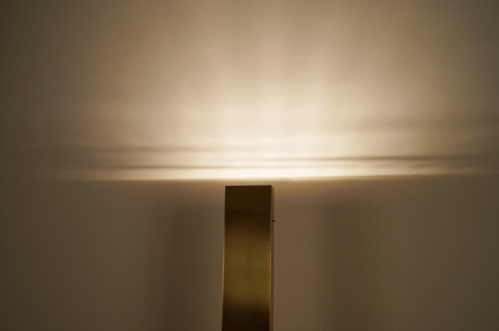 Vintage Brass Skyscraper Floor Lamps by Casella