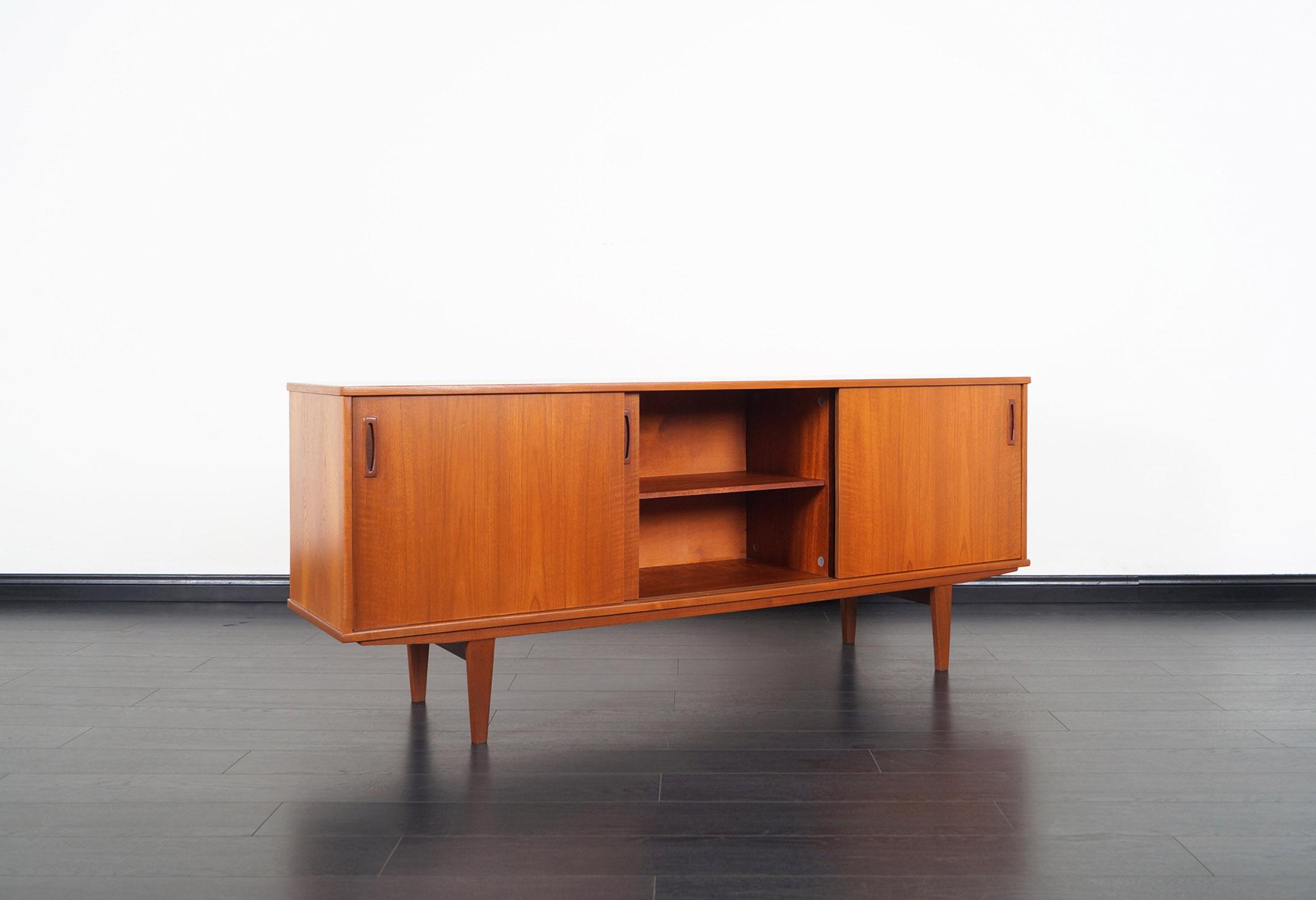 Danish Modern Teak Sideboard by Dyrlund