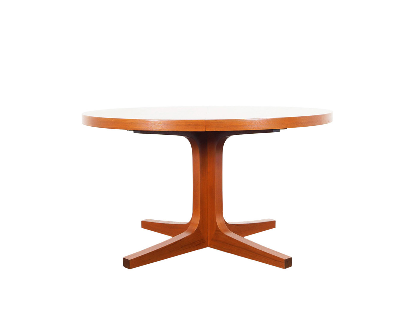 Danish Modern Extendable Teak Dining Table