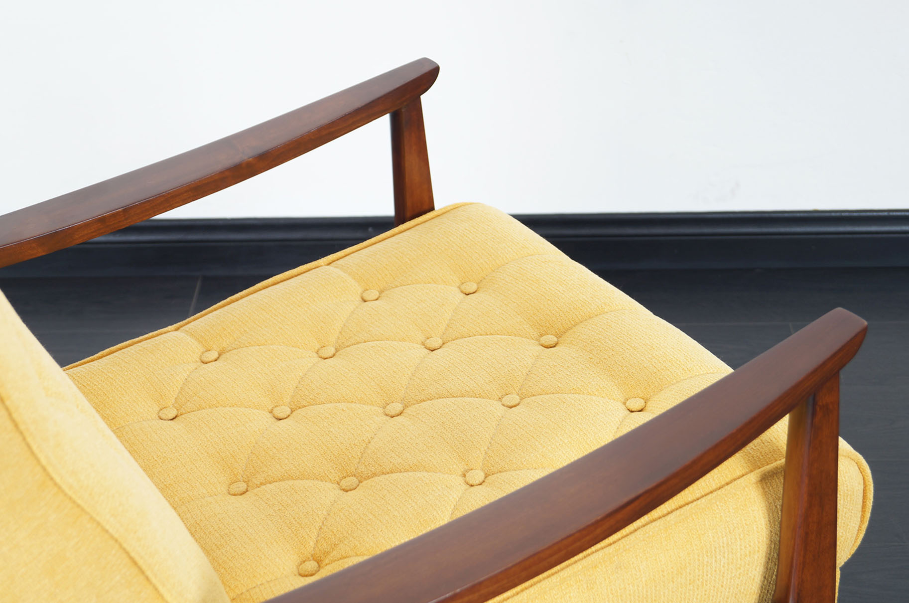 Early Vintage Reclining Lounge Chair by Milo Baughman