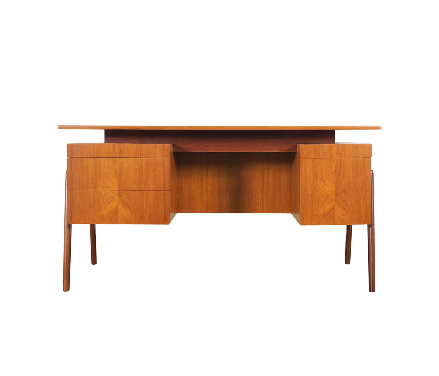 Danish Modern Floating Top Desk