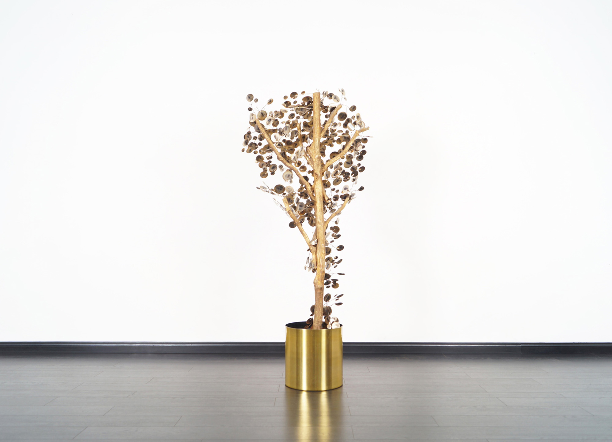 Vintage Raindrops Tree Sculpture by Curtis Jere