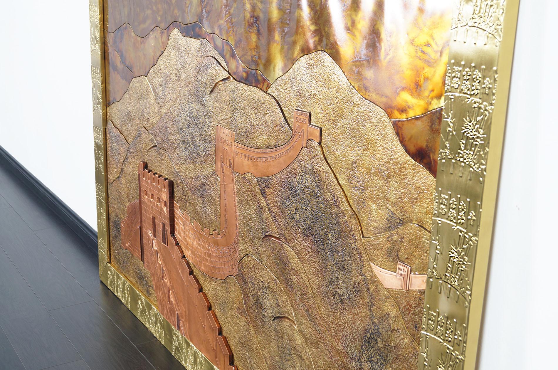 Vintage Great Wall of China Wall Art