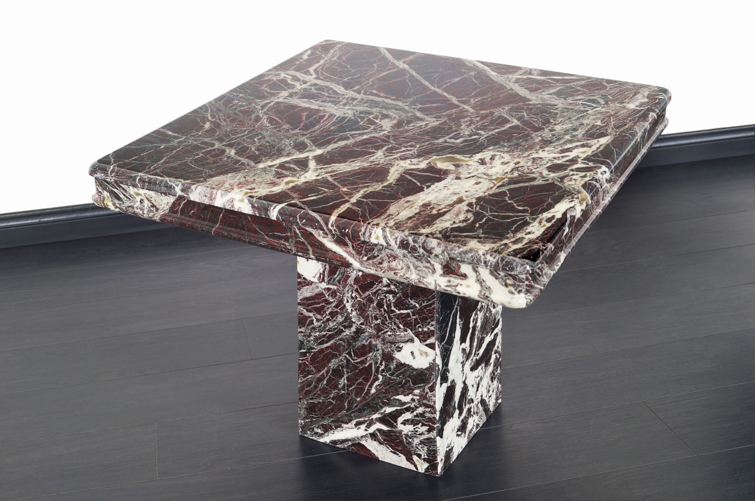 Vintage Italian Marble Side Tables