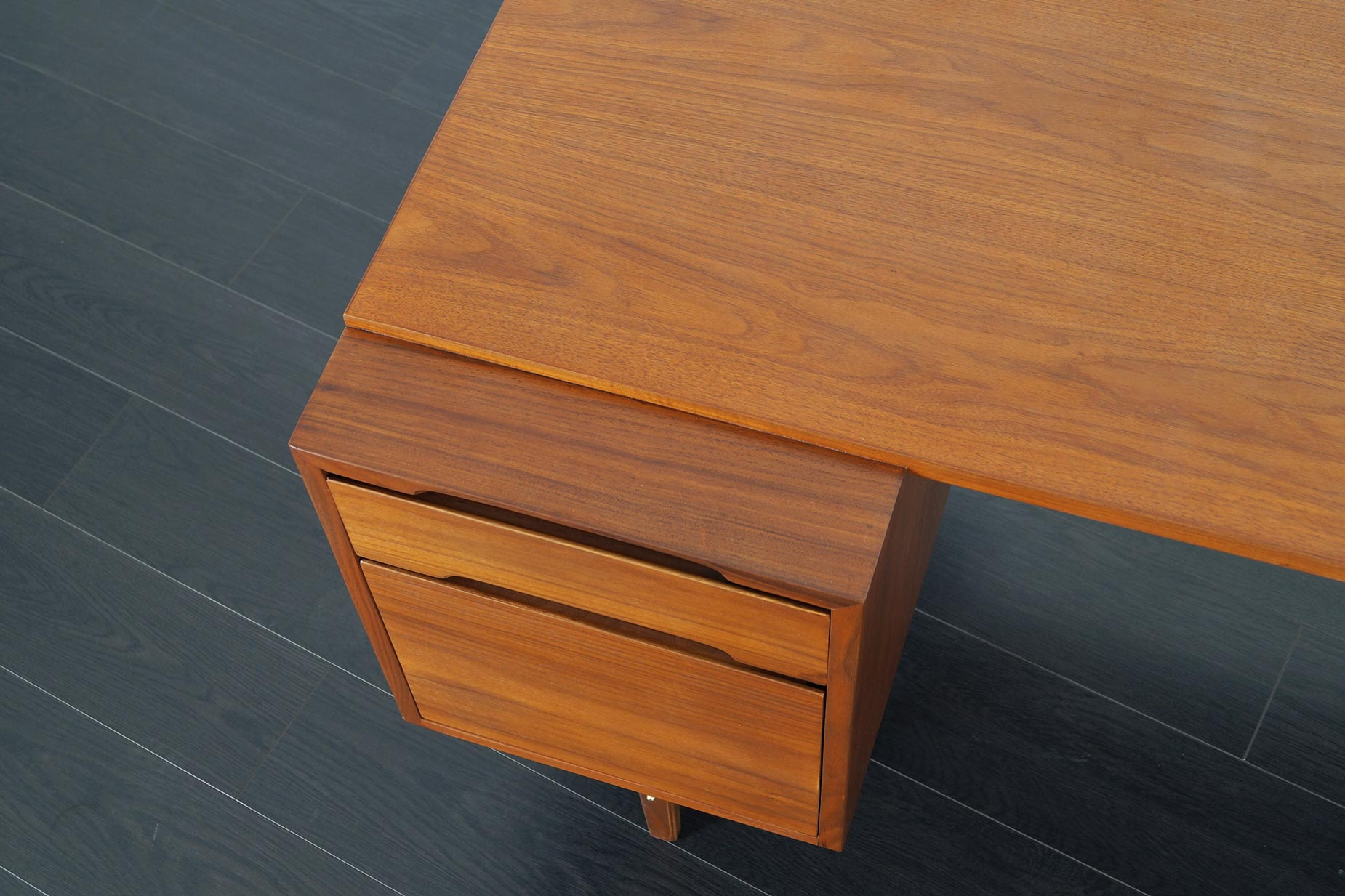 Glenn of California Walnut Desk by Kipp Stewart