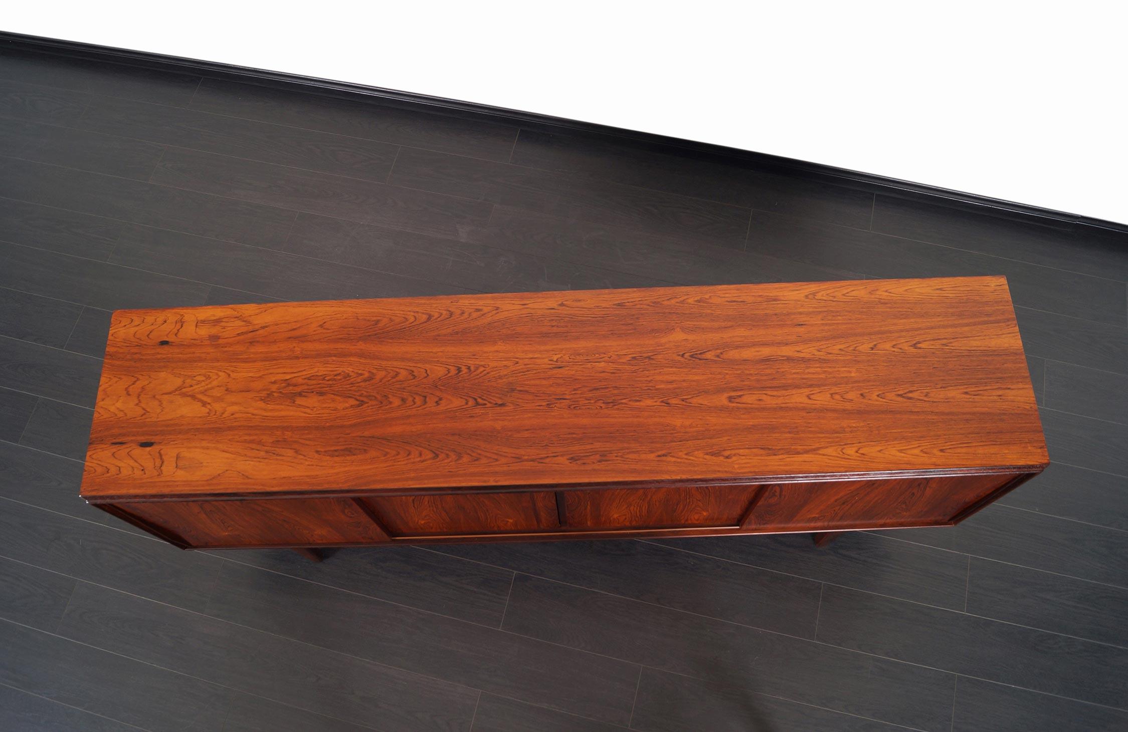 Danish Modern Rosewood Sideboard by E.W. Bach
