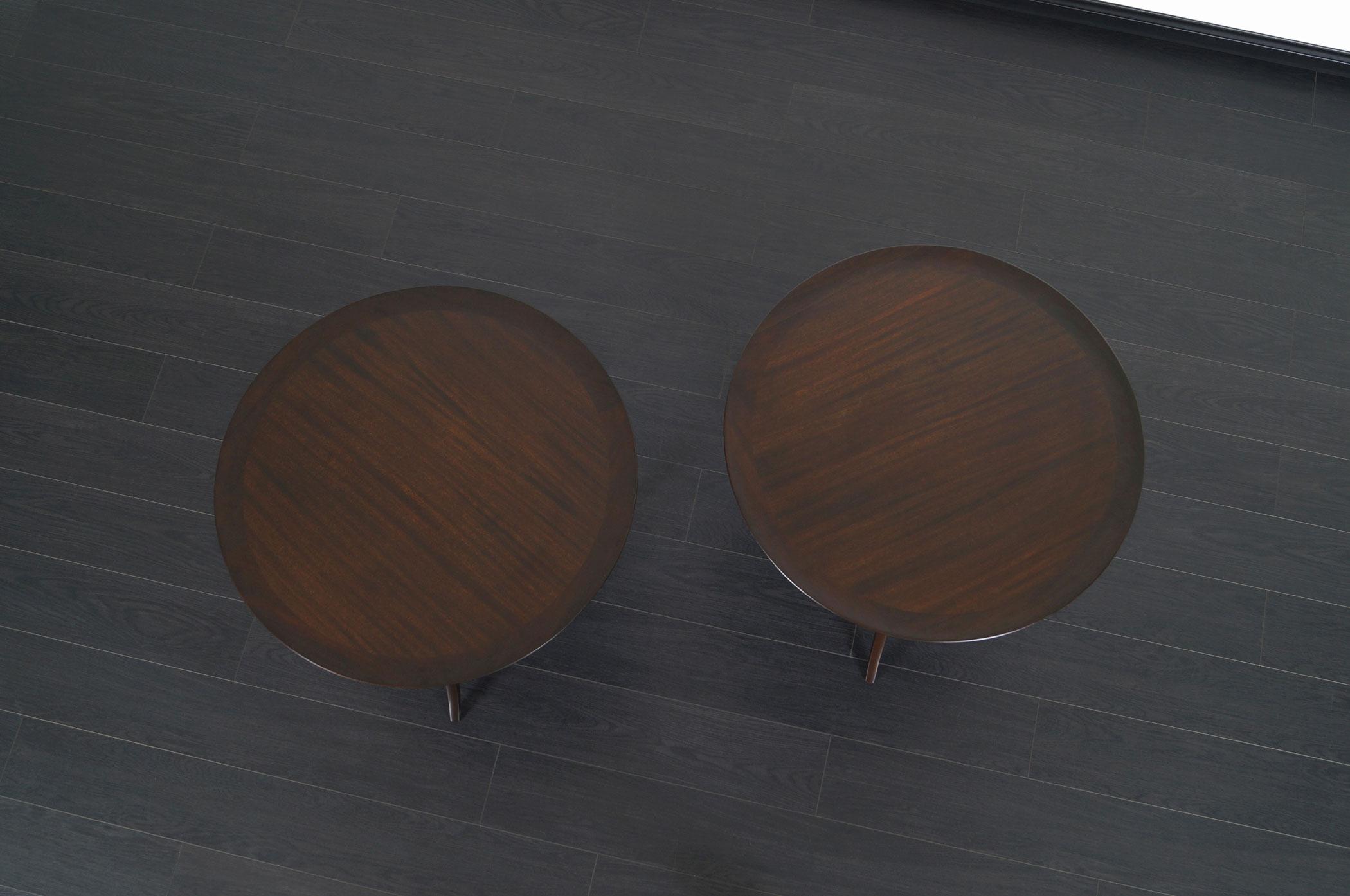 Dunbar Model #2010 Side Tables by Edward J. Wormley