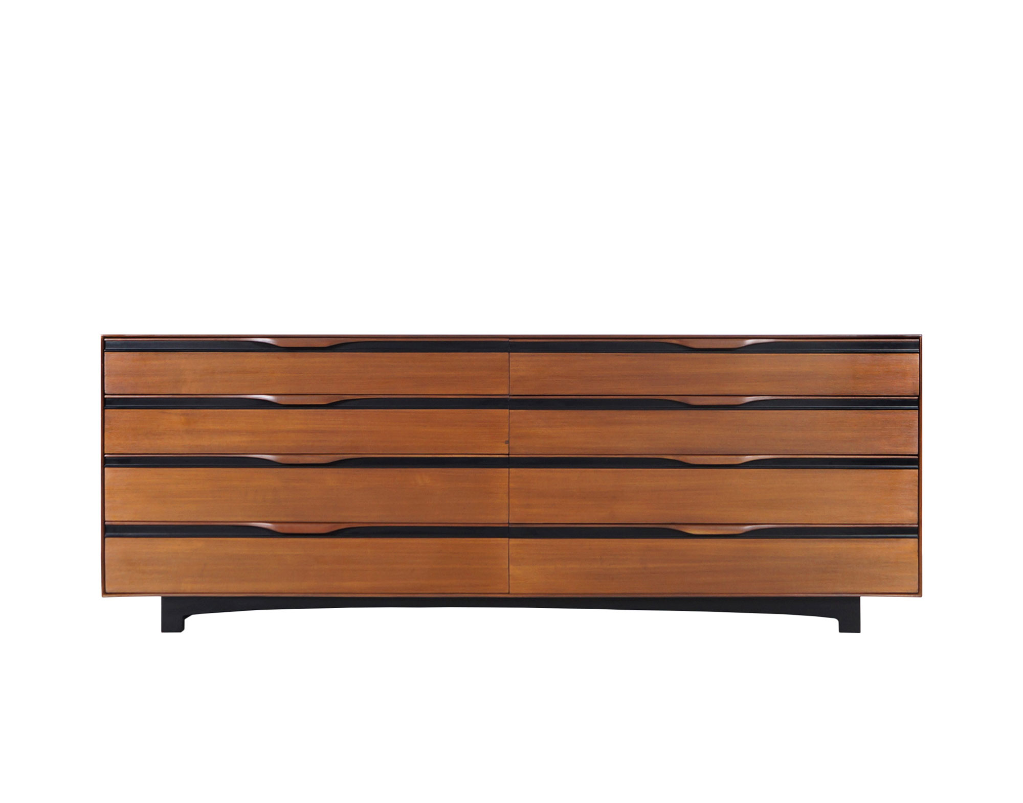 Glenn of California Walnut Dresser by John Kapel