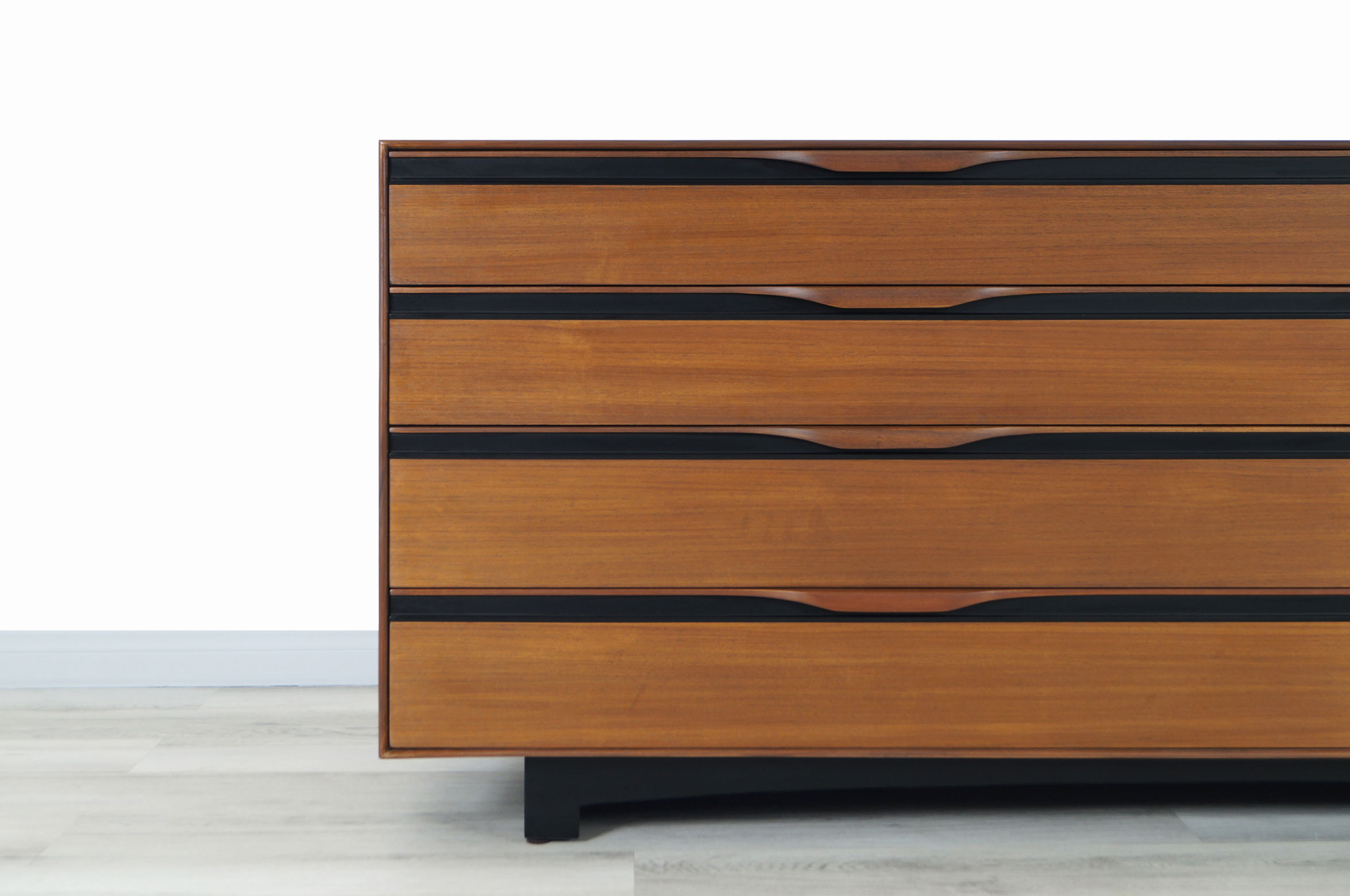 Glenn of California Walnut Dresser by John Kapel