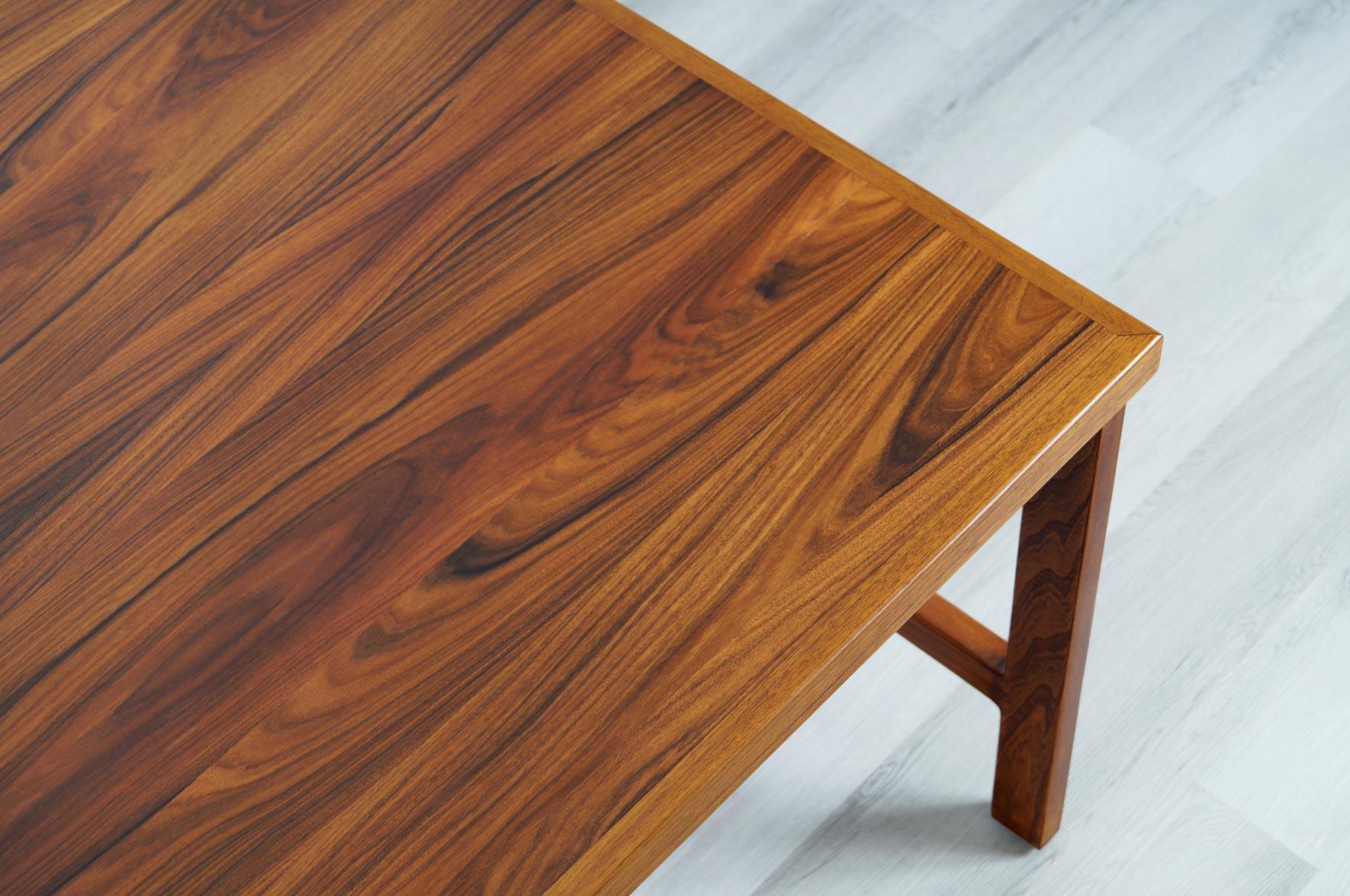 Danish Rosewood Executive Desk by Arne Vodder for H.P Hansen